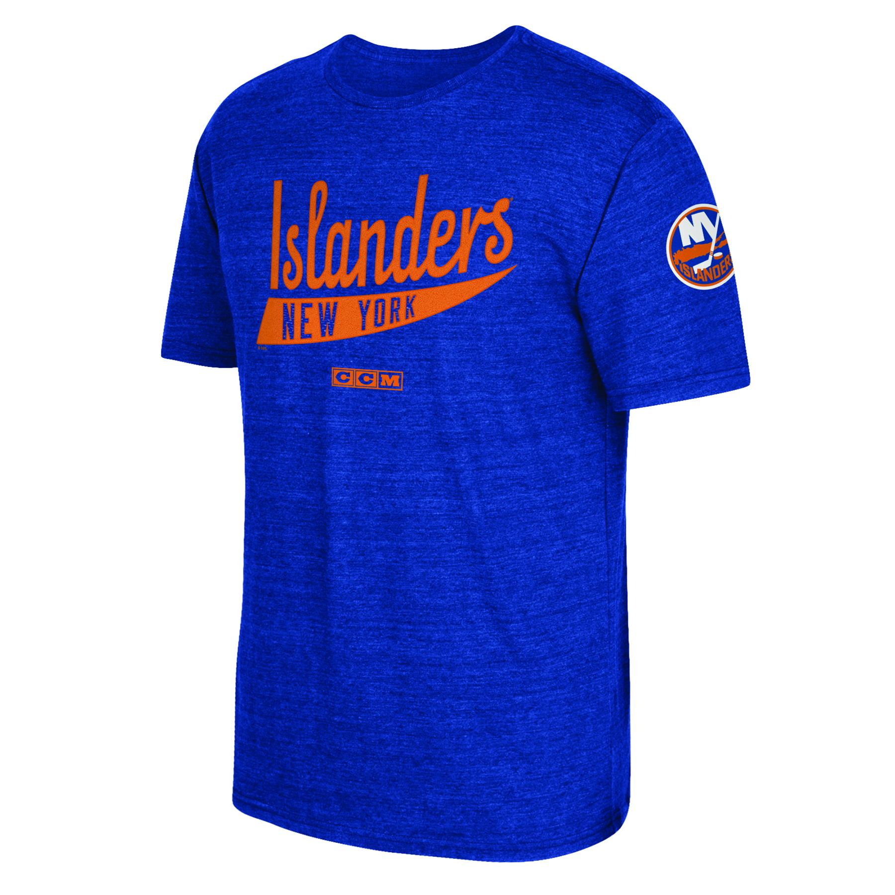 New York Islanders CCM Strike First T-Shirt