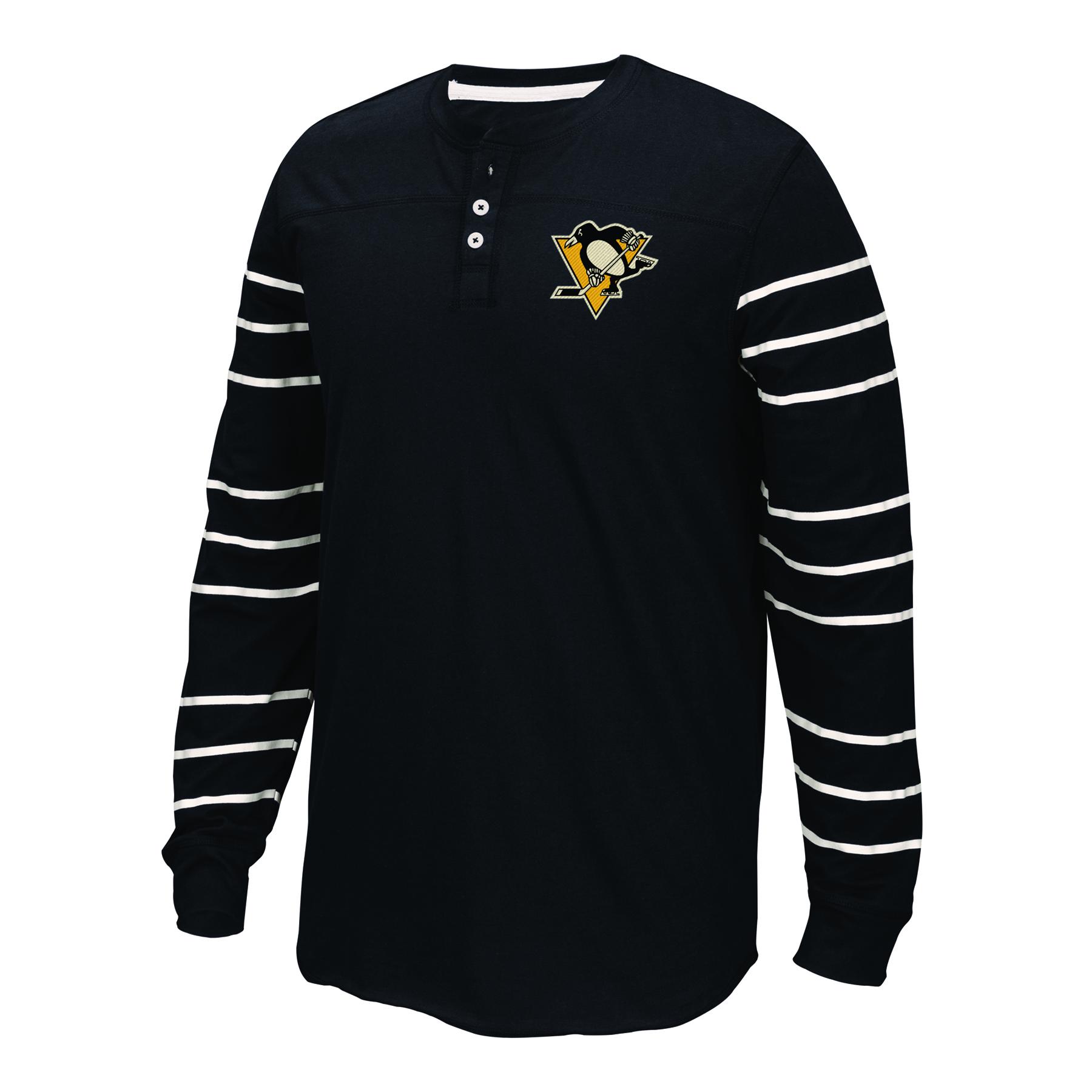 Pittsburgh Penguins CCM Henley - Long Sleeve