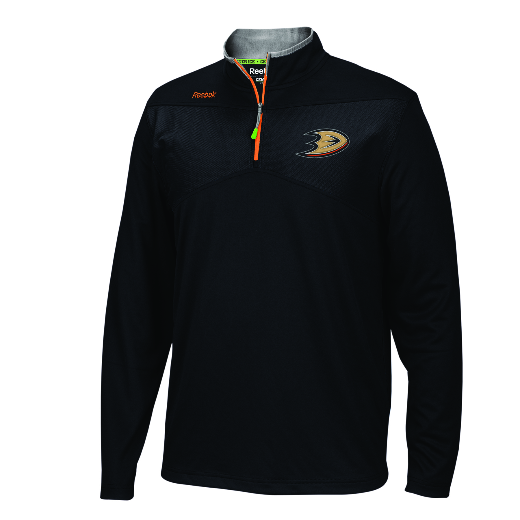 Anaheim Ducks Center Ice 1/4 Zip Jacket