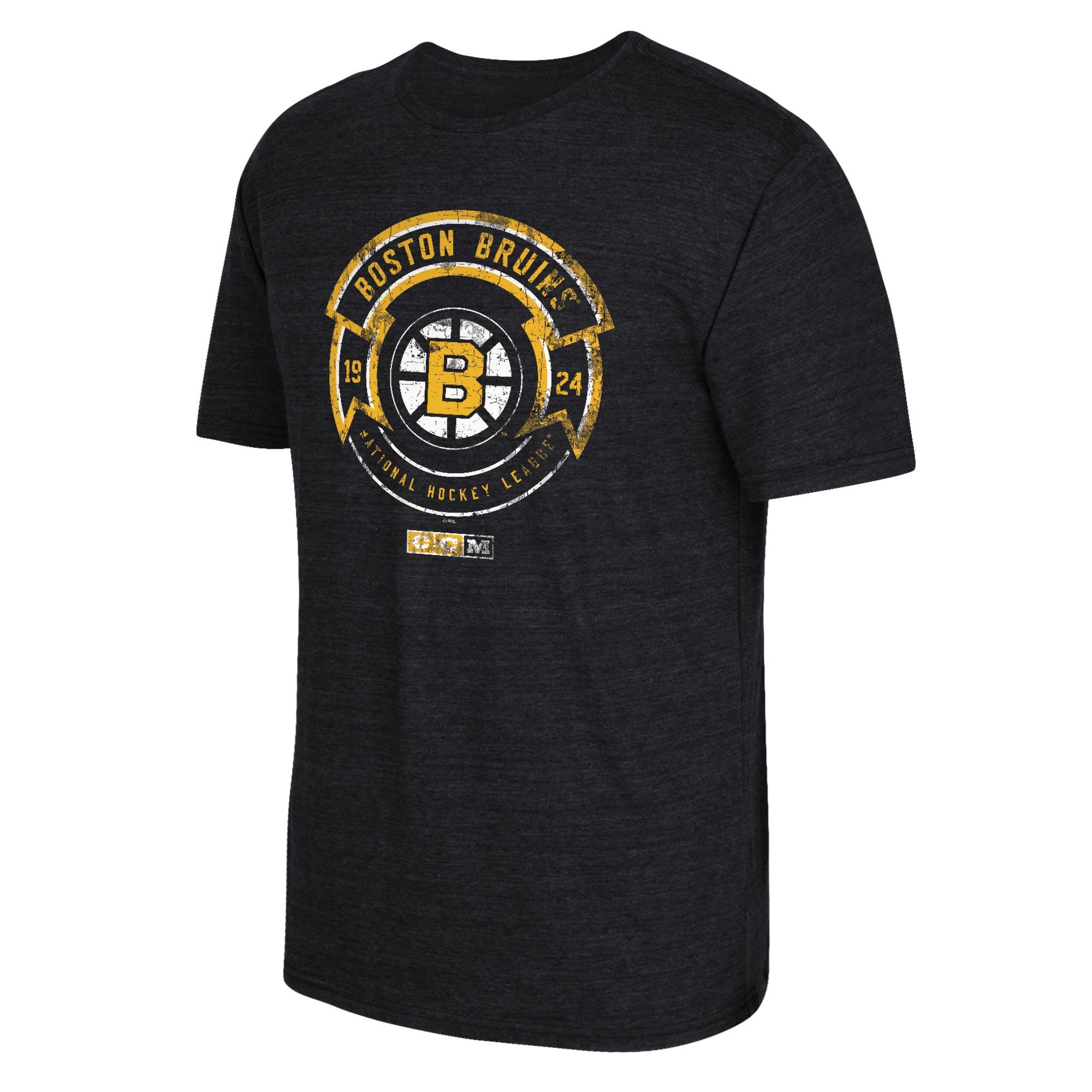 Boston Bruins CCM Enforcer T-Shirt - Mens