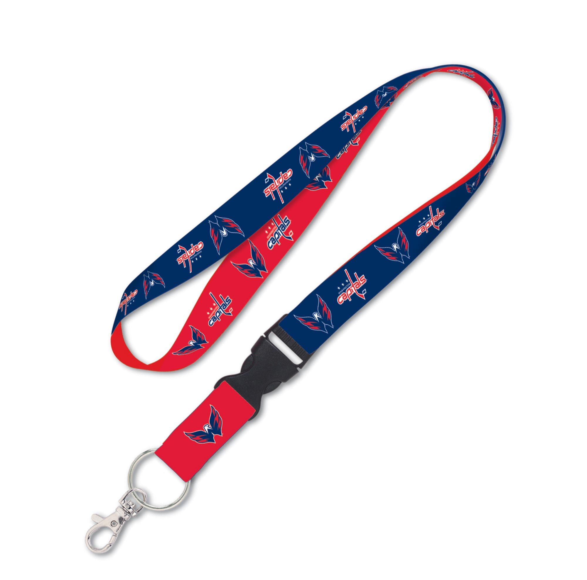 Washington Capitals 1 Inch Buckle Lanyard