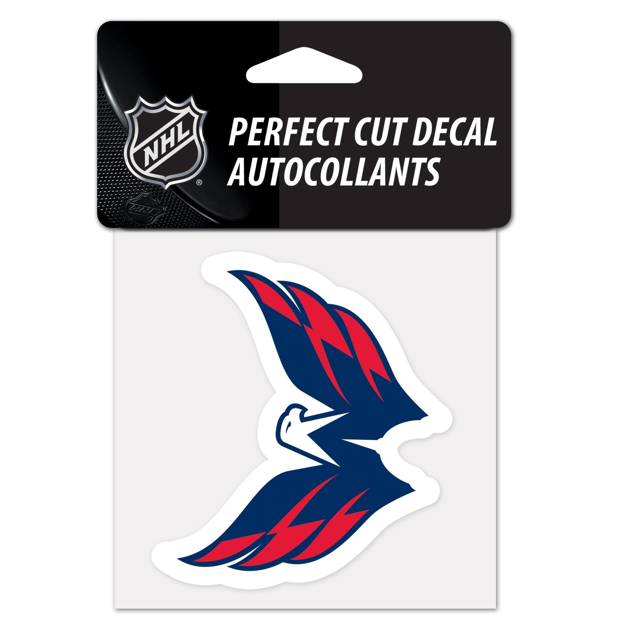 Washington Capitals Team Logo Perfect Cut Decal 4 x 4