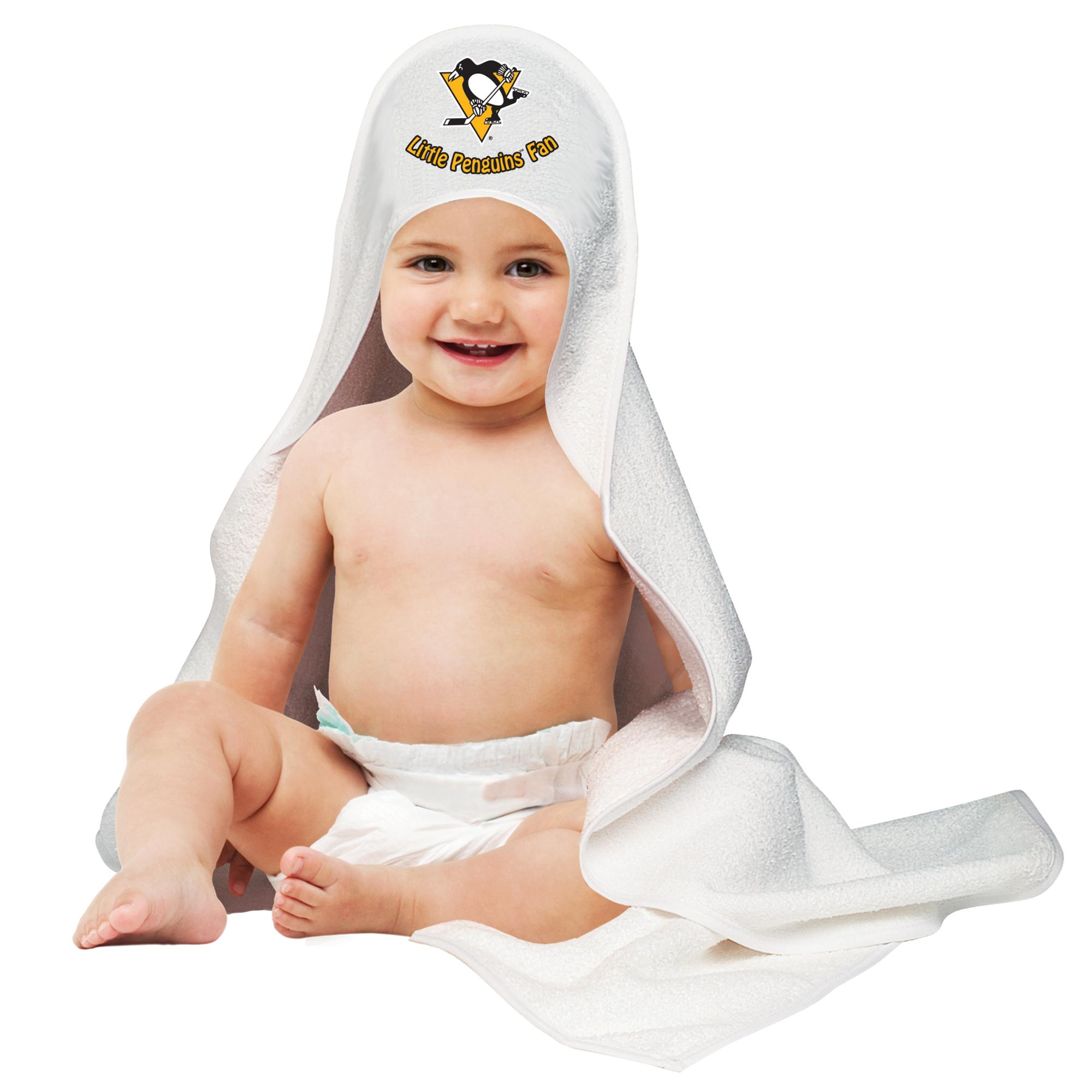 Pittsburgh Penguins Hooded Baby Towel