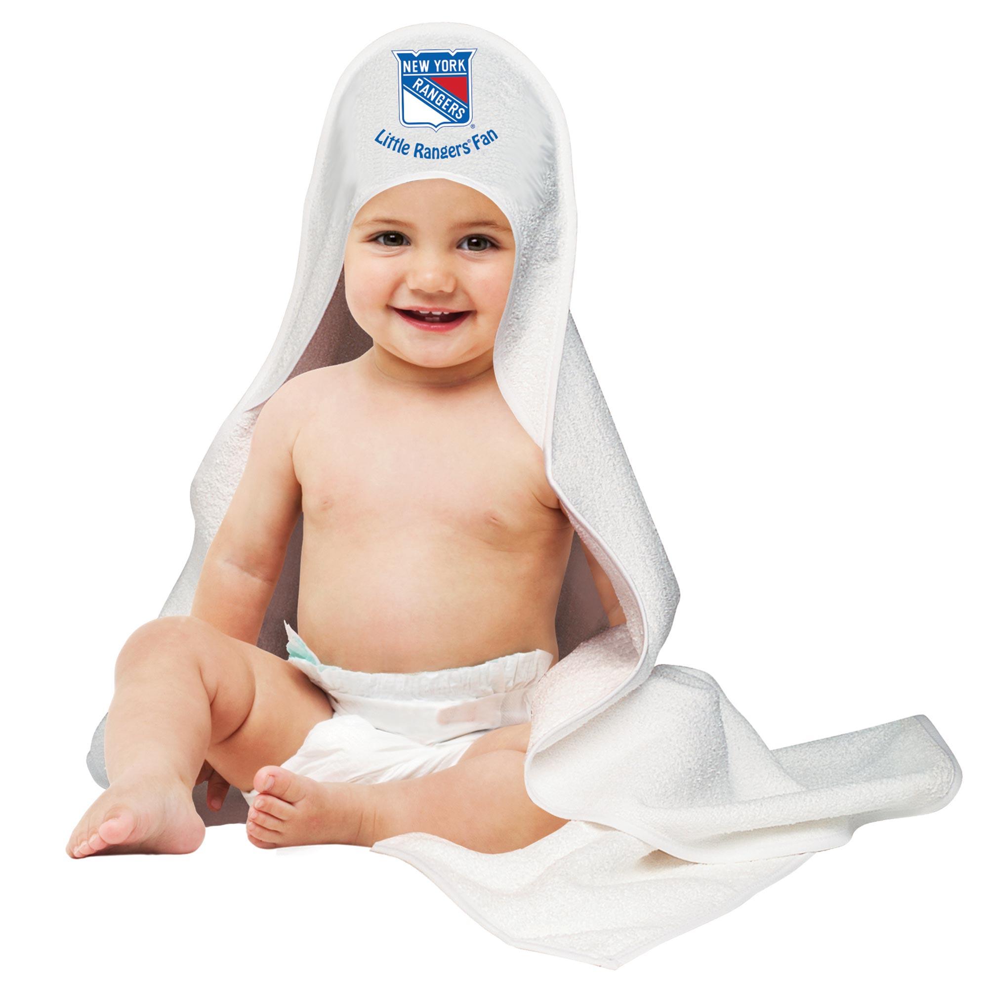 New York Rangers Hooded Baby Towel