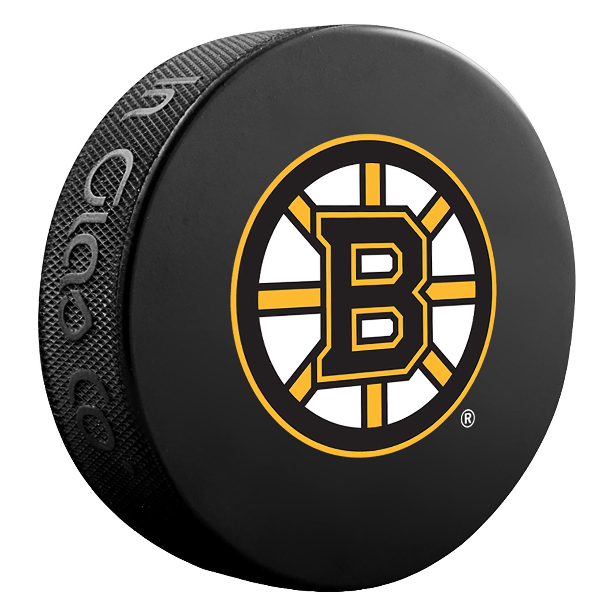 Boston Bruins Team Puck