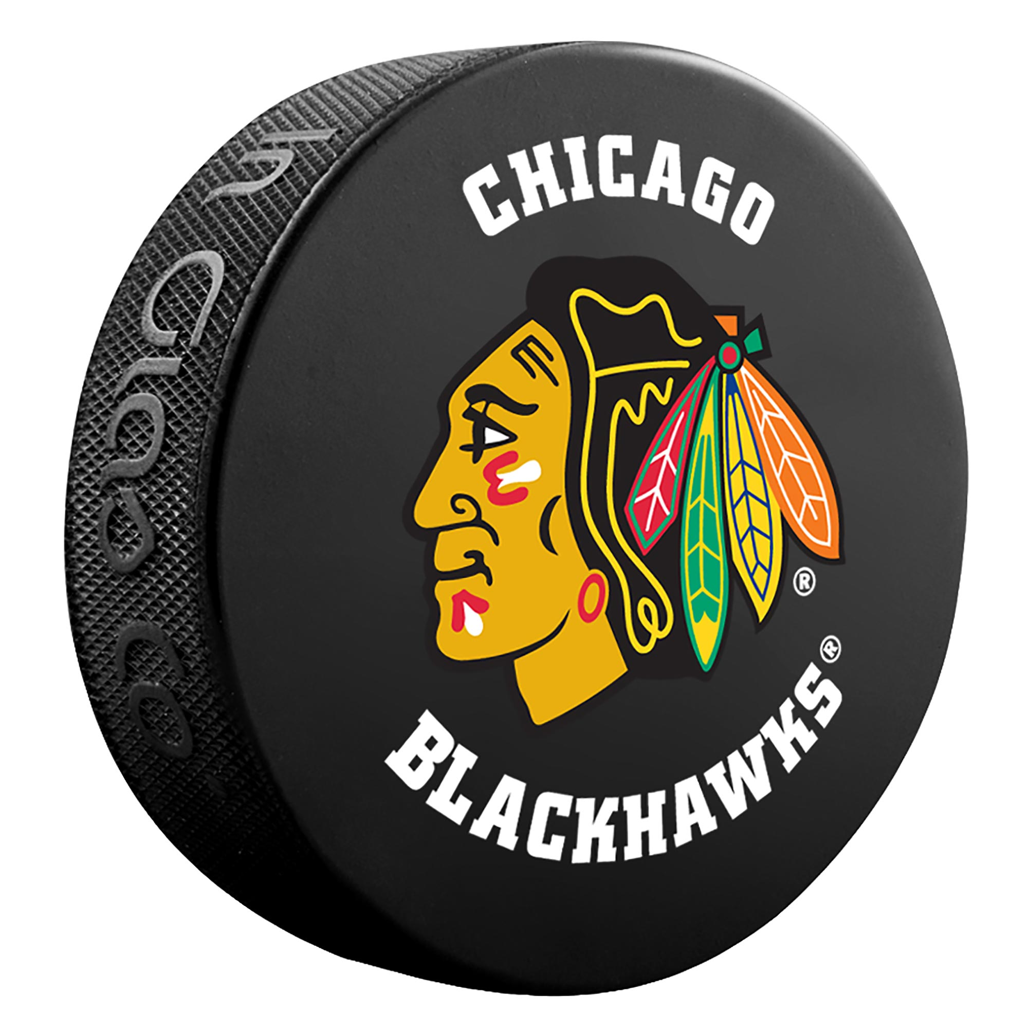Chicago Blackhawks Team Puck