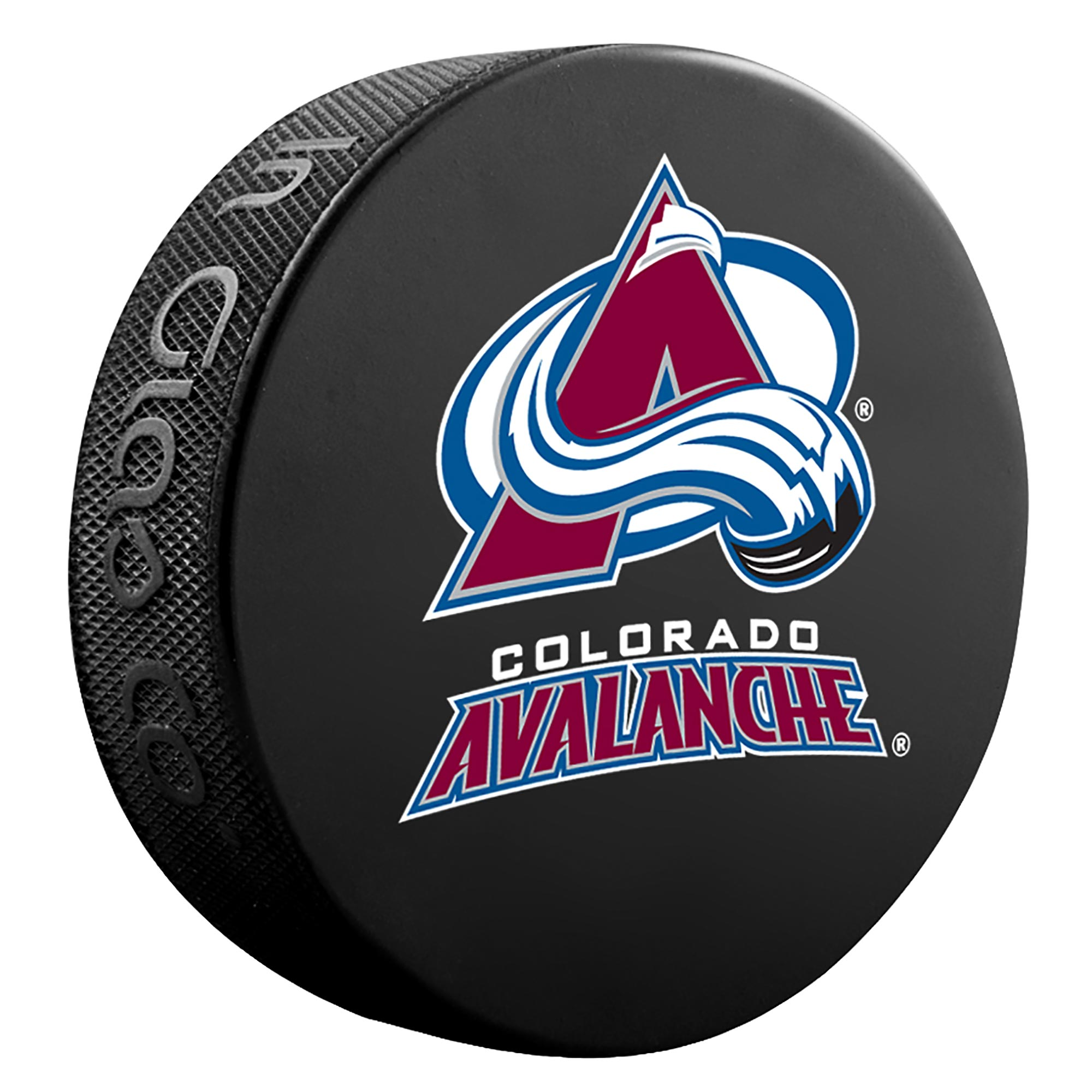Colorado Avalanche Team Puck