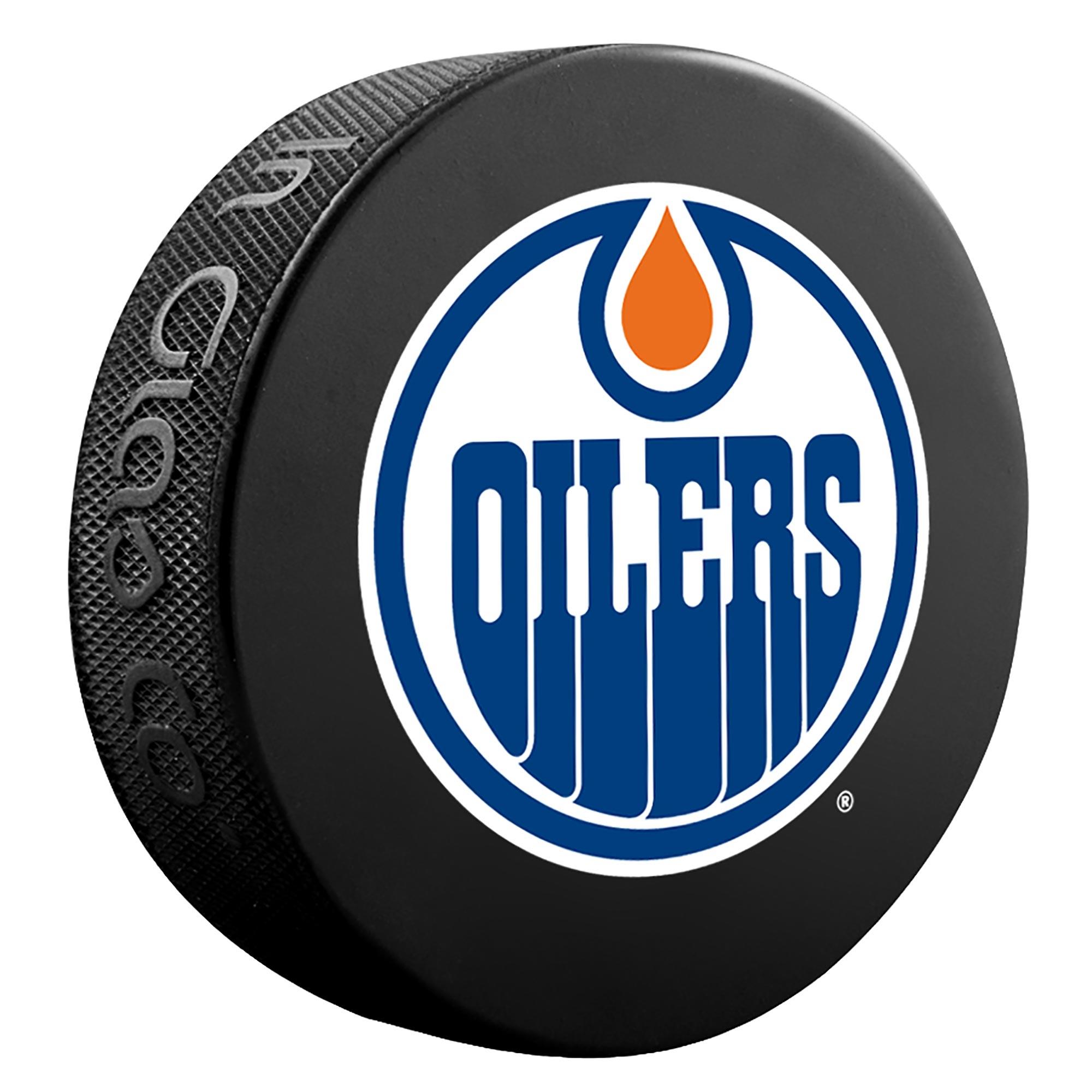 Edmonton Oilers Team Puck