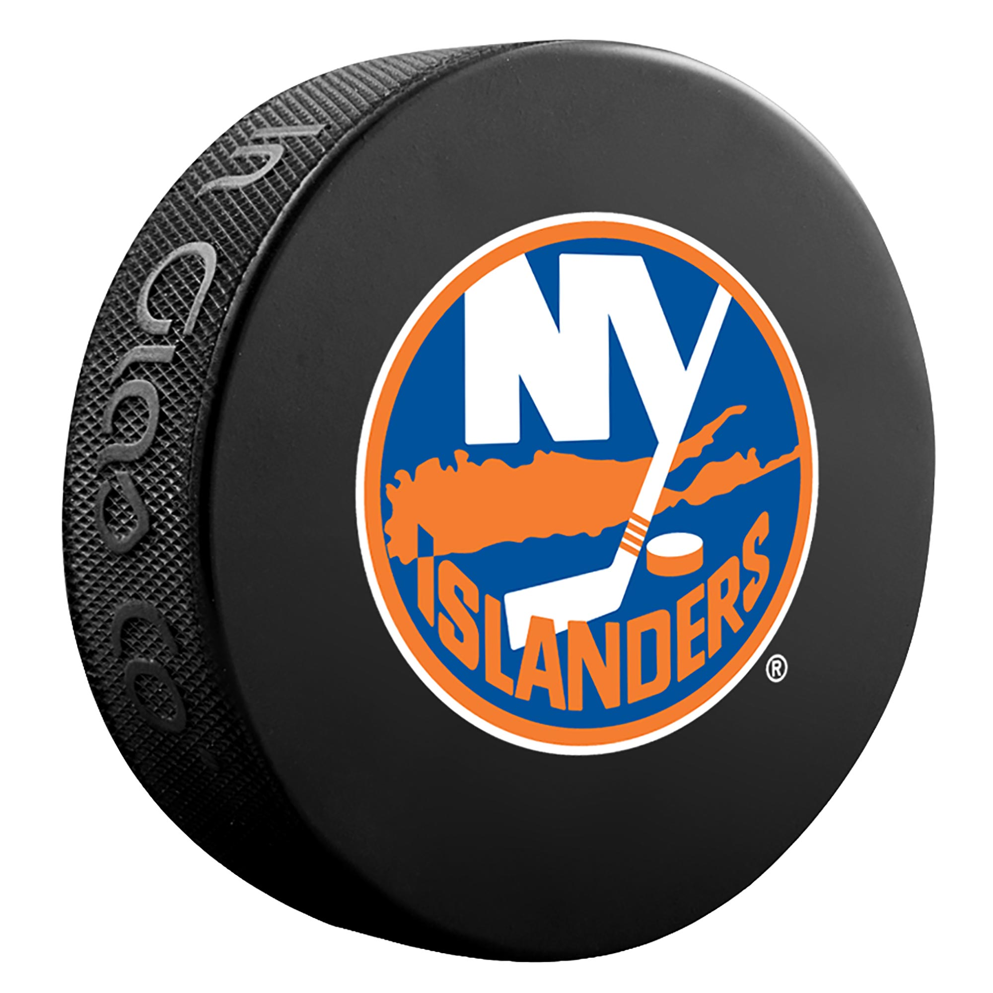 New York Islanders Team Puck