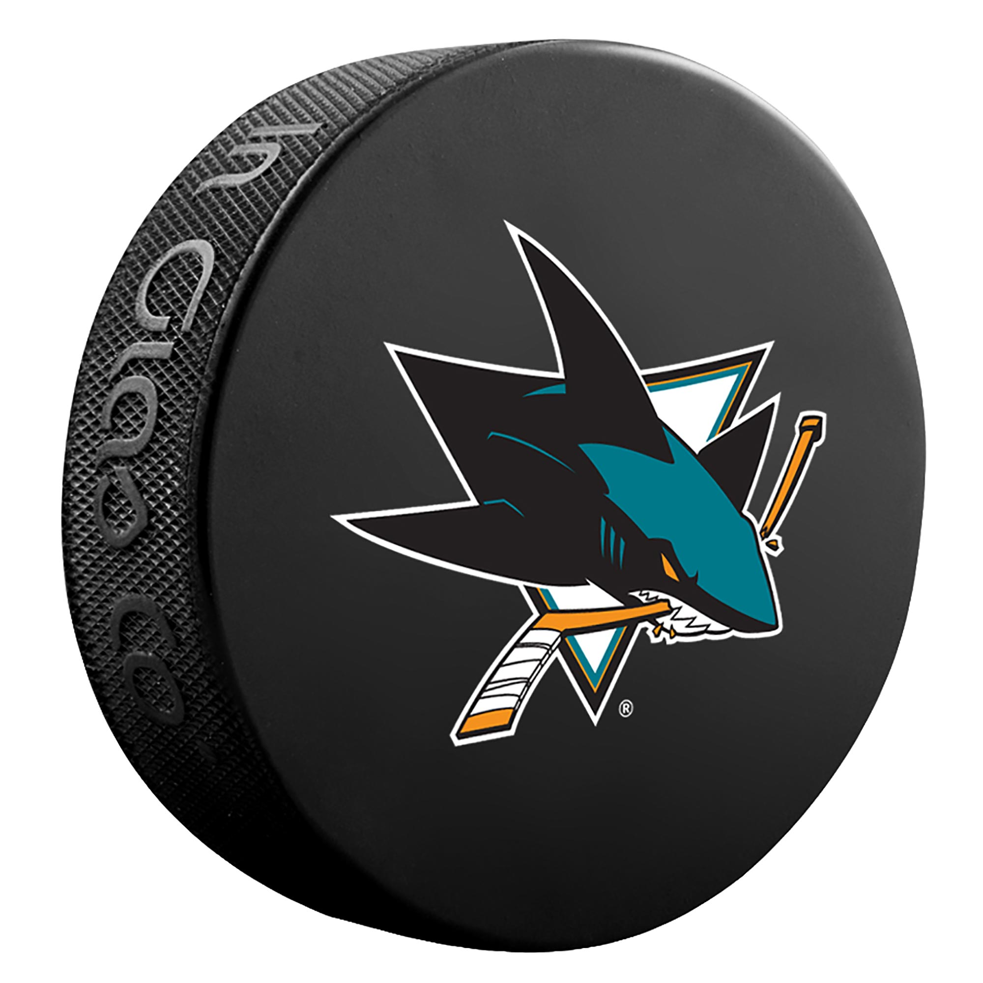 San Jose Sharks Team Puck