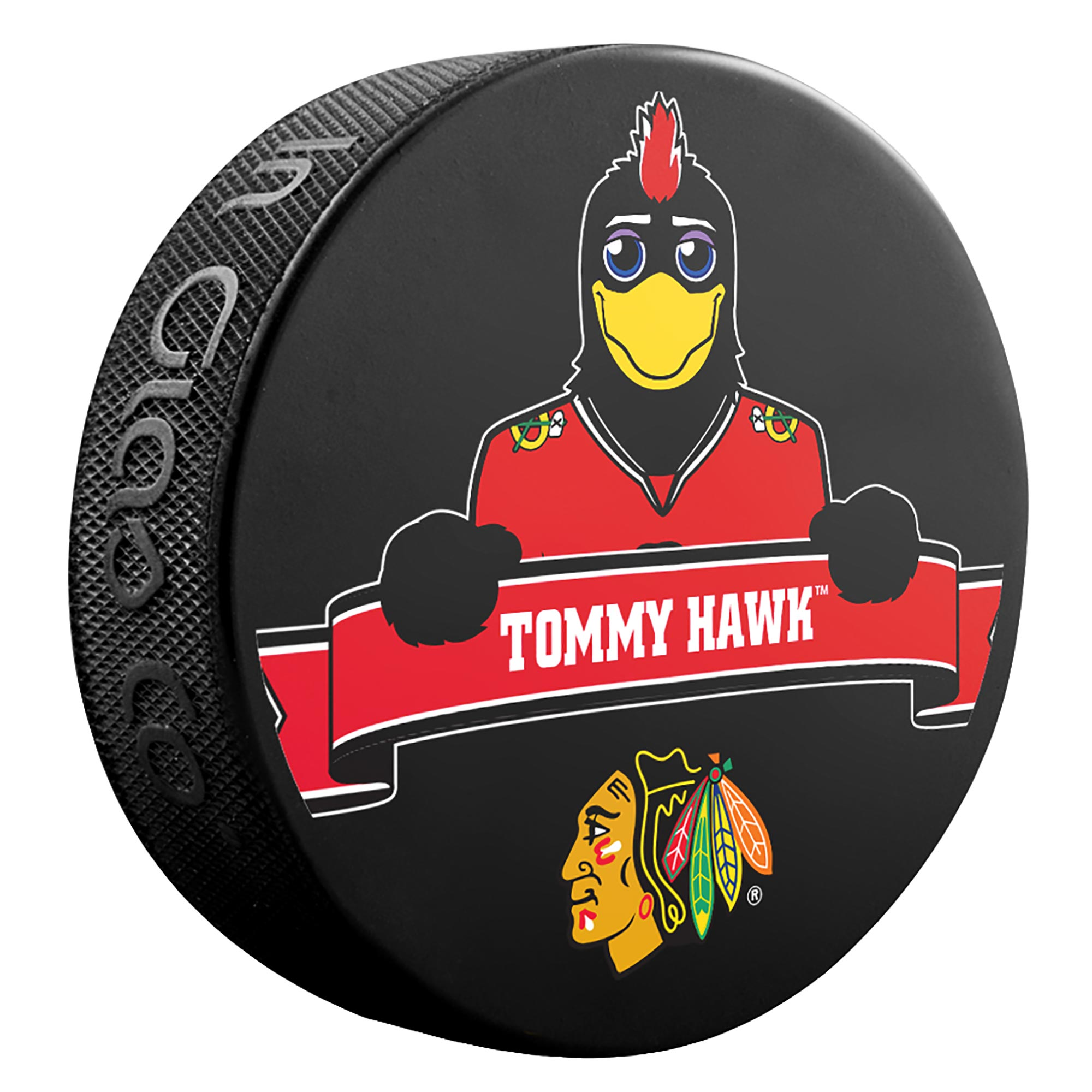 Chicago Blackhawks Mascot Puck