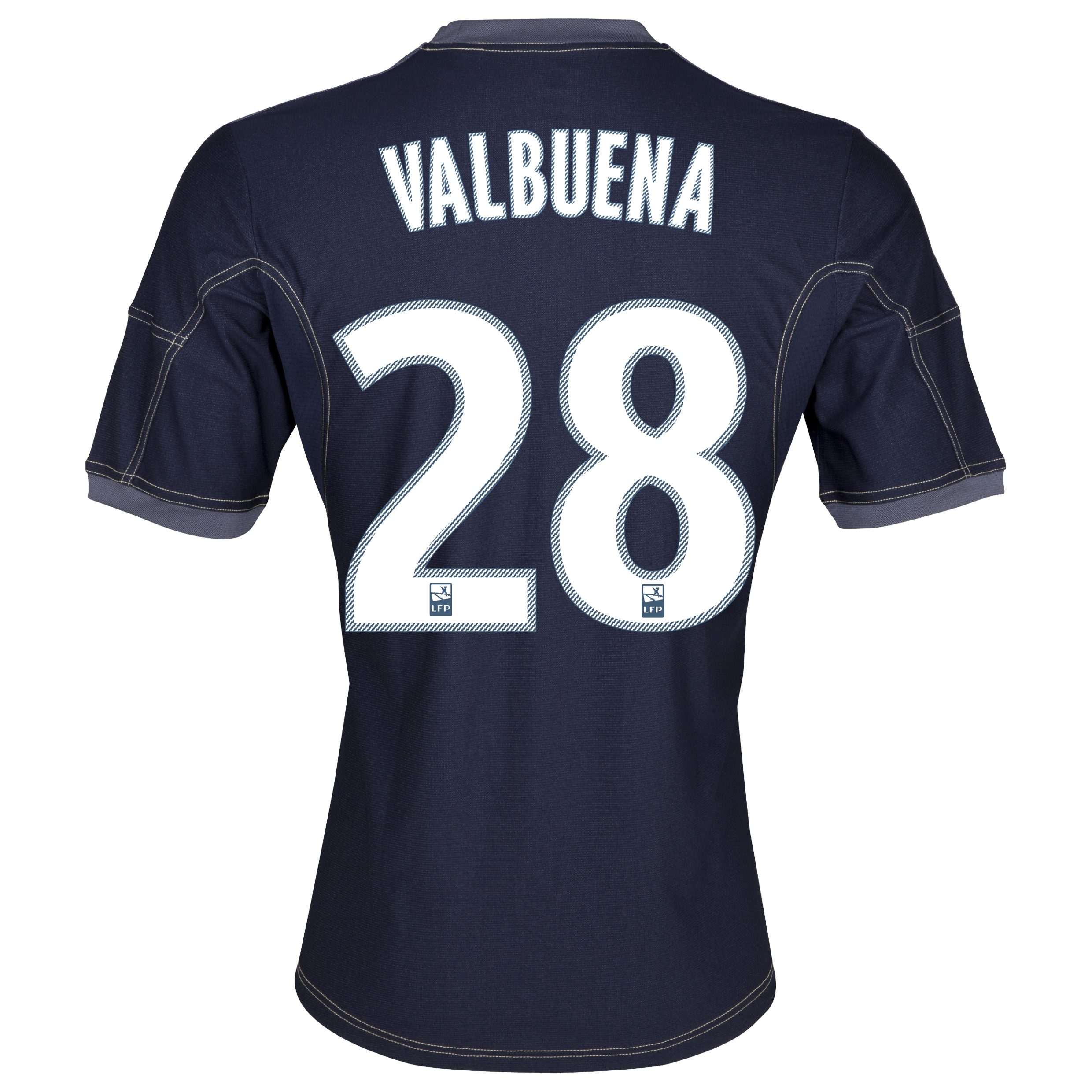Olympique de Marseille Away Shirt SS 2013/14 - Kids Lt Blue with Valbuena 28 printing