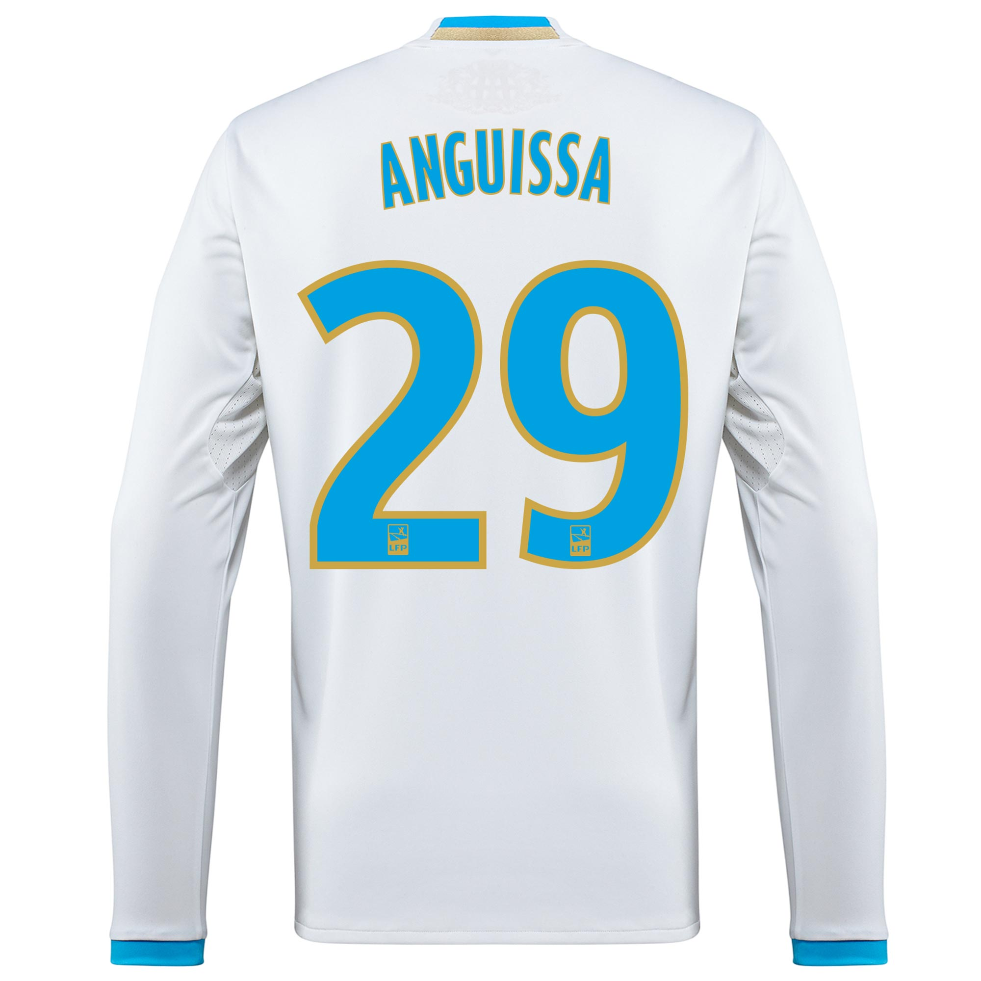 Olympique de Marseille Home Shirt 2016/17 - Long Sleeved with Anguissa