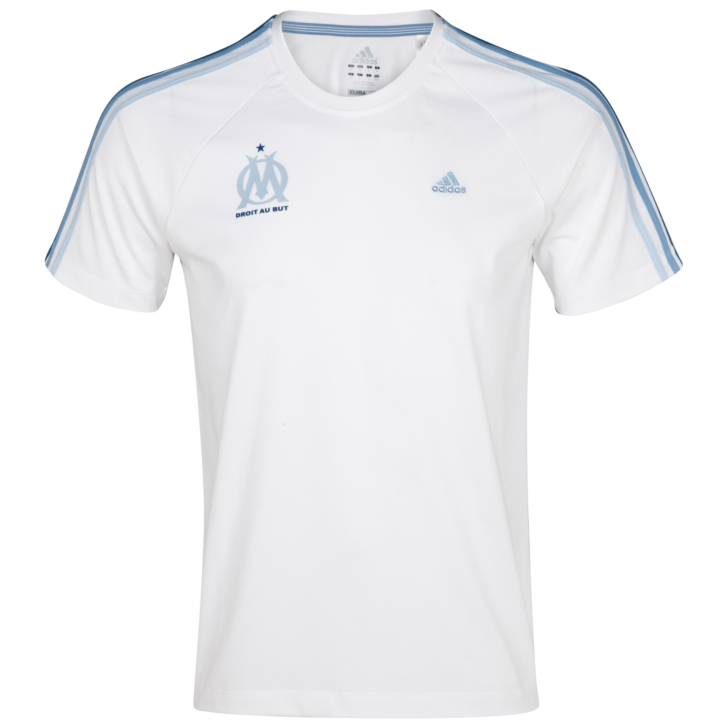 Olympique de Marseille Lifestyle T-Shirt - White