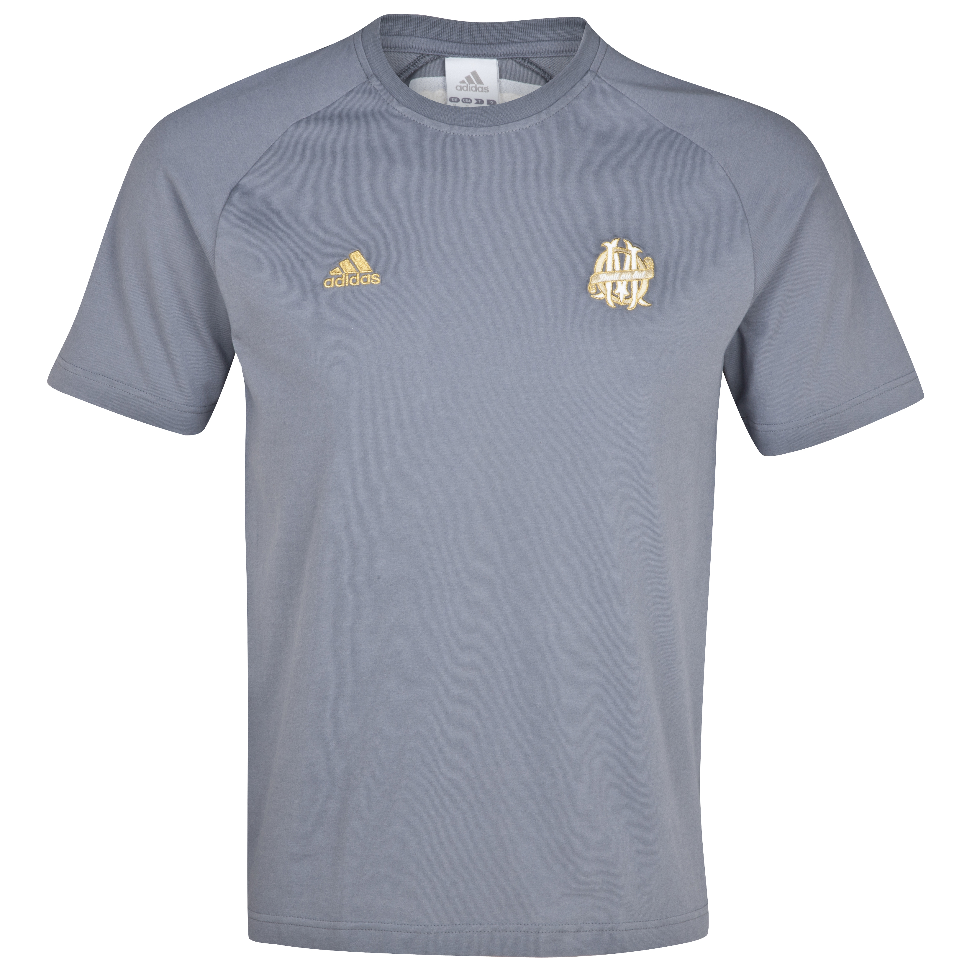 Olympique de Marseille Lifestyle T-Shirt - Grey