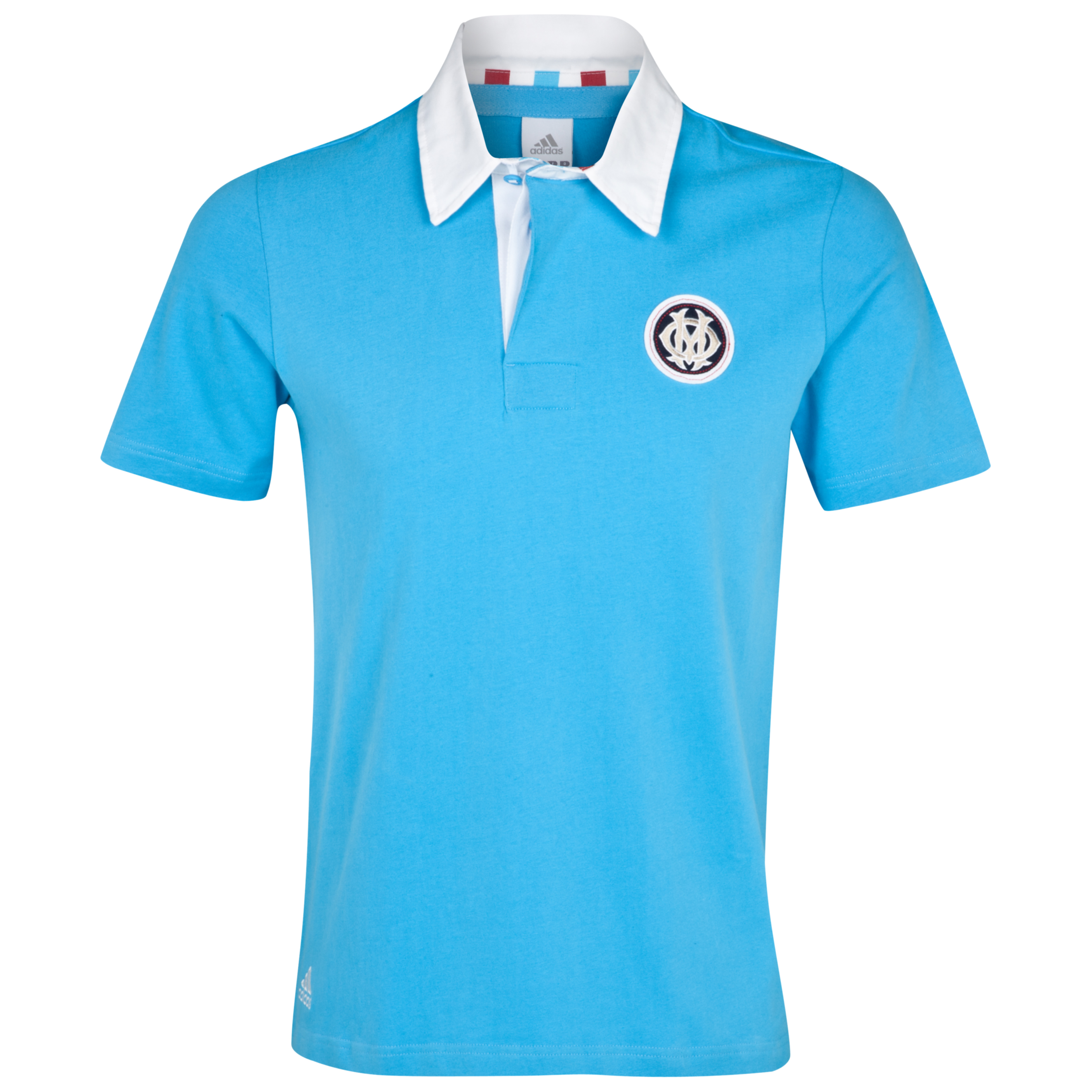 Polo Authentic Olympique de Marseille - Bleu/Blanc - Homme