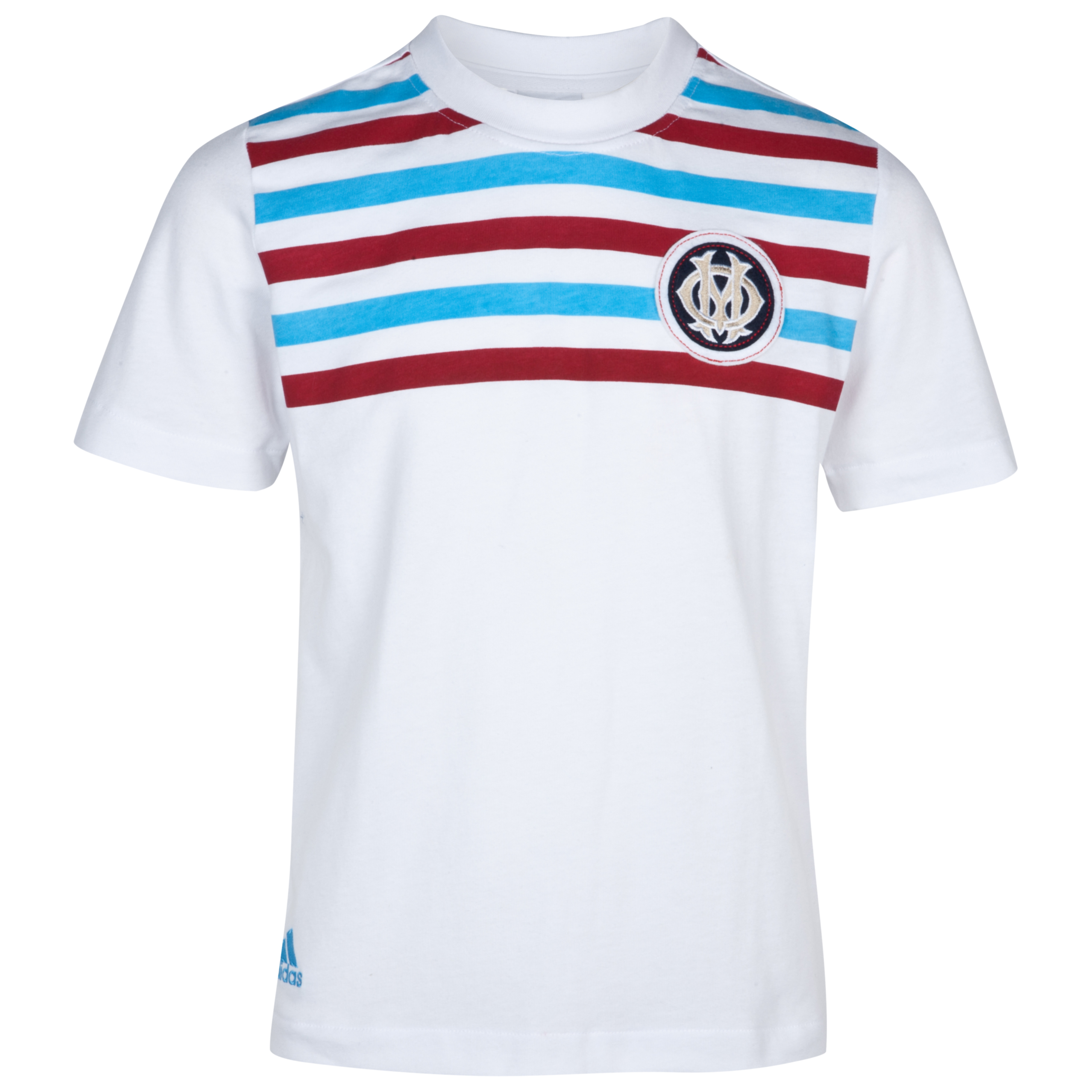 T-shirt Authentic Olympique de Marseille - Blanc - Junior