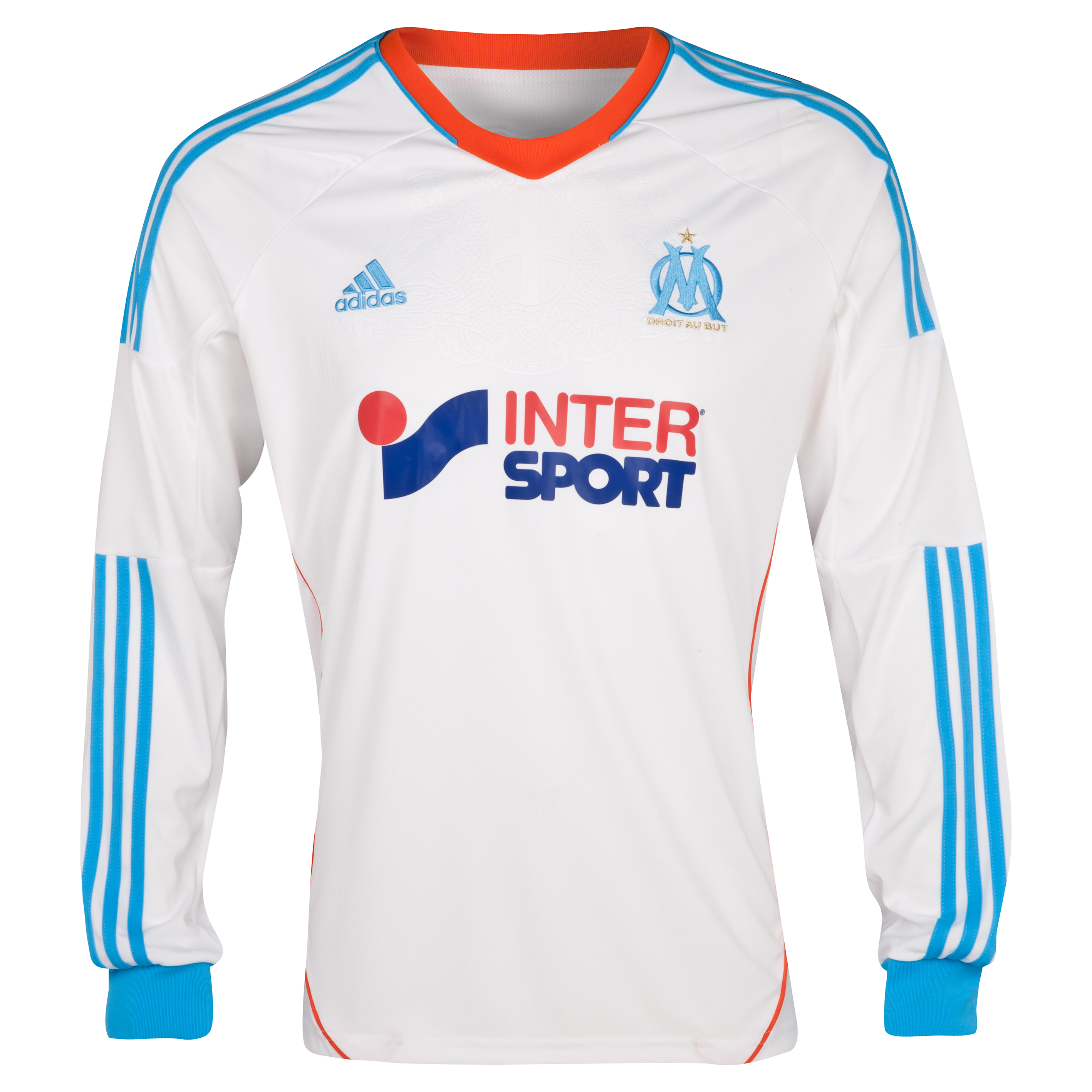 Olympique de Marseille Replica Home Shirt 2012/13 Long Sleeved