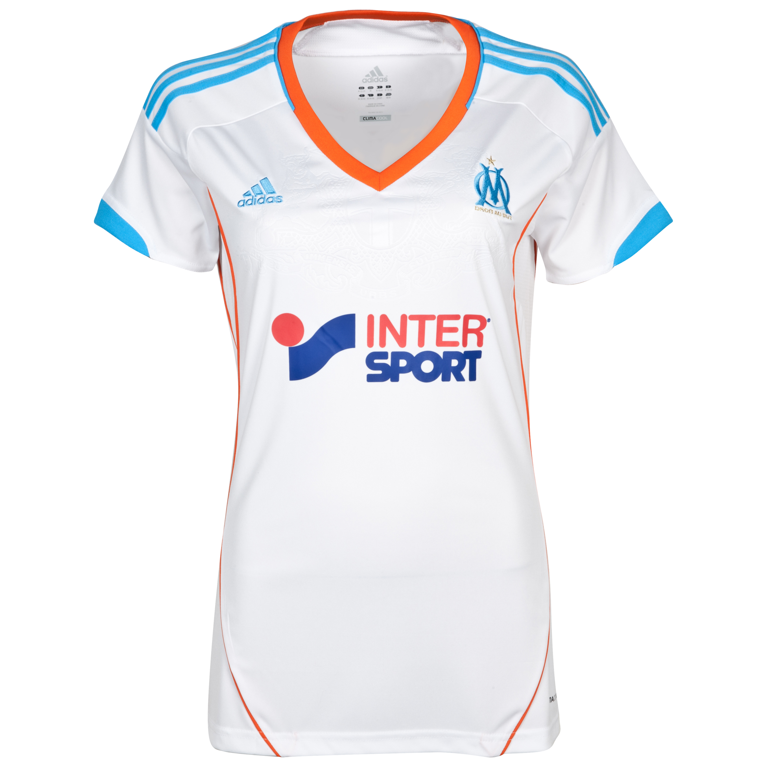 Olympique de Marseille Replica Home Shirt 2012/13 Womens