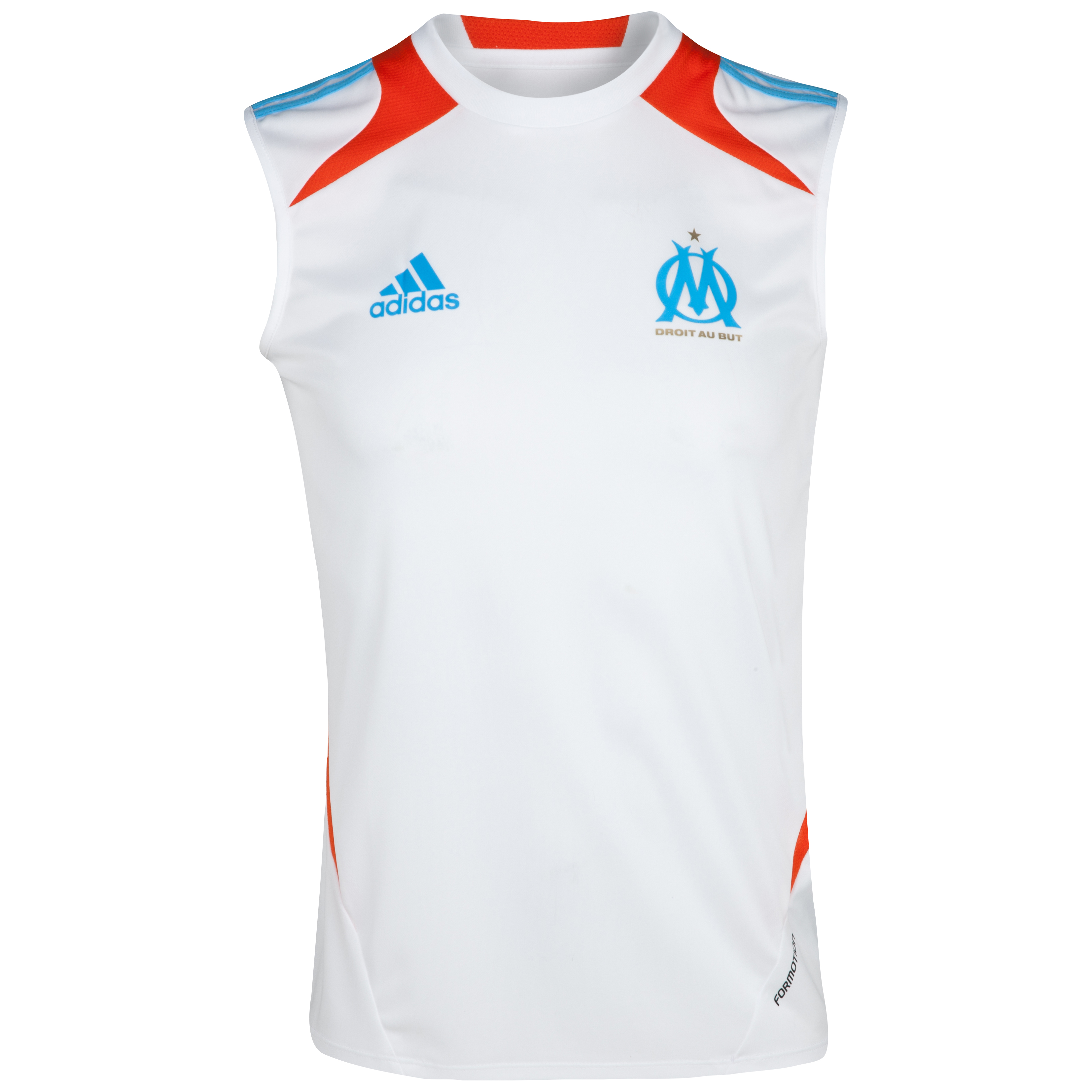 Olympique de Marseille Sleeveless T-Shirt - White
