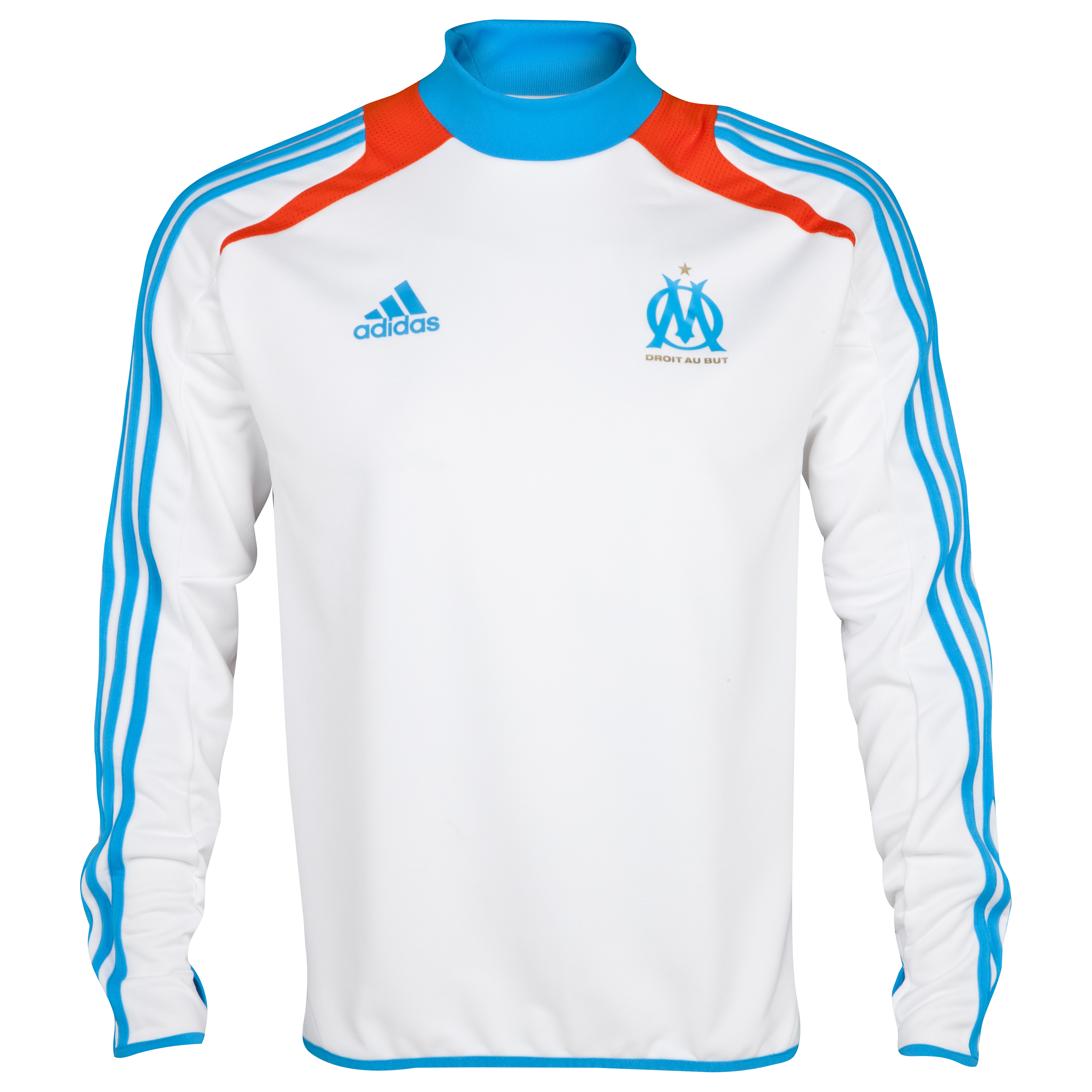 Olympique de Marseille Training Top - White - Junior