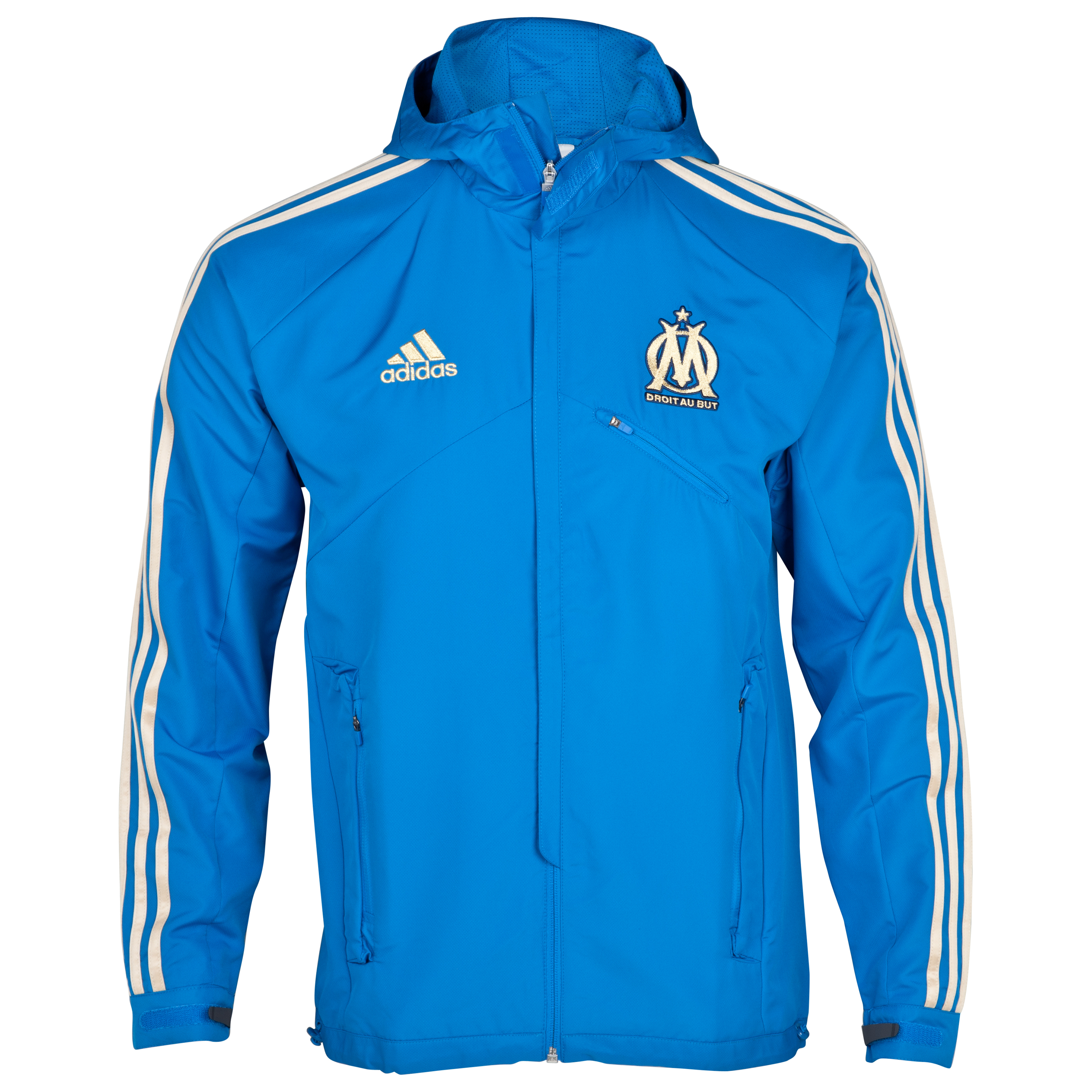 Olympique de Marseille Travel Jacket - Blue