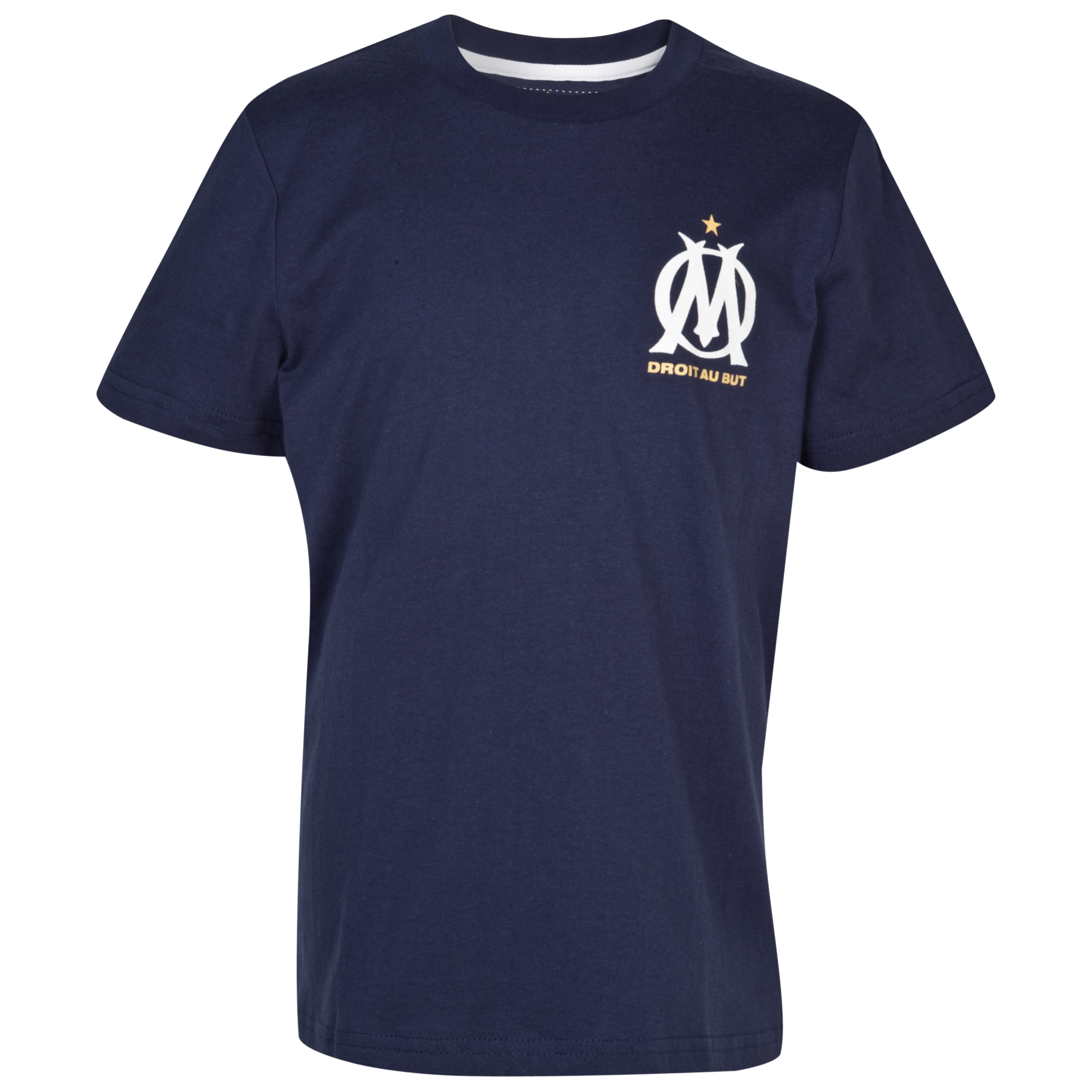 Olympique de Marseille Graffiti T-Shirt - Navy - Junior
