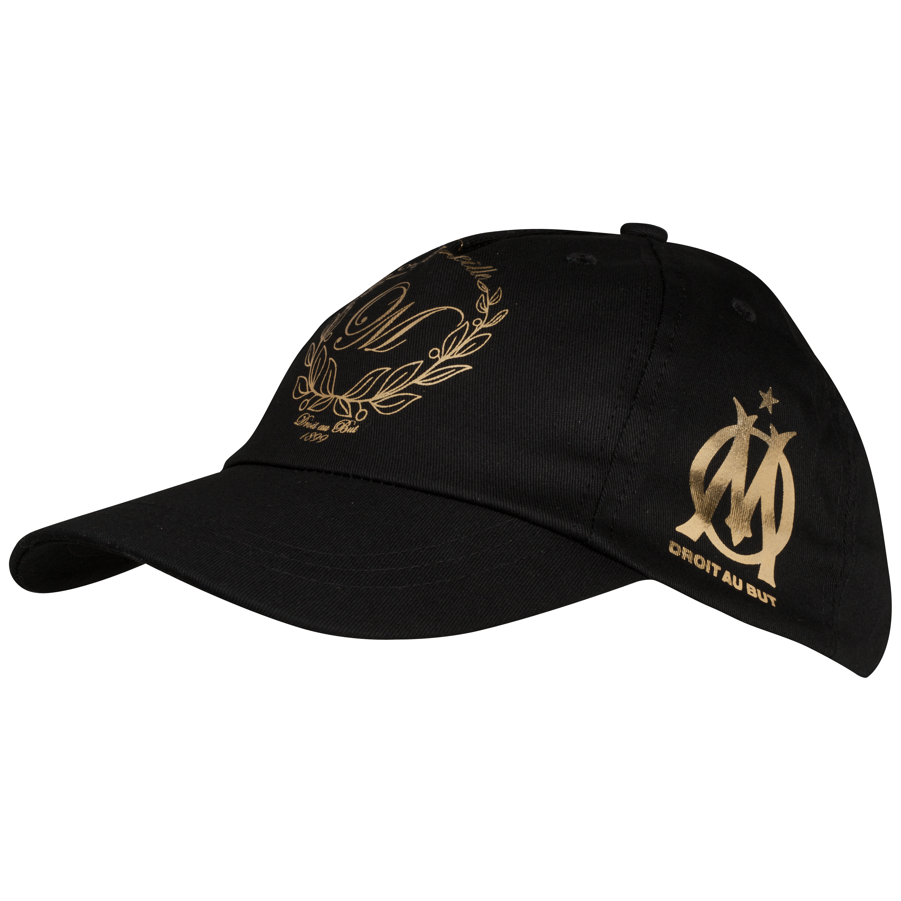 Olympique de Marseille Cap - Black - Womens