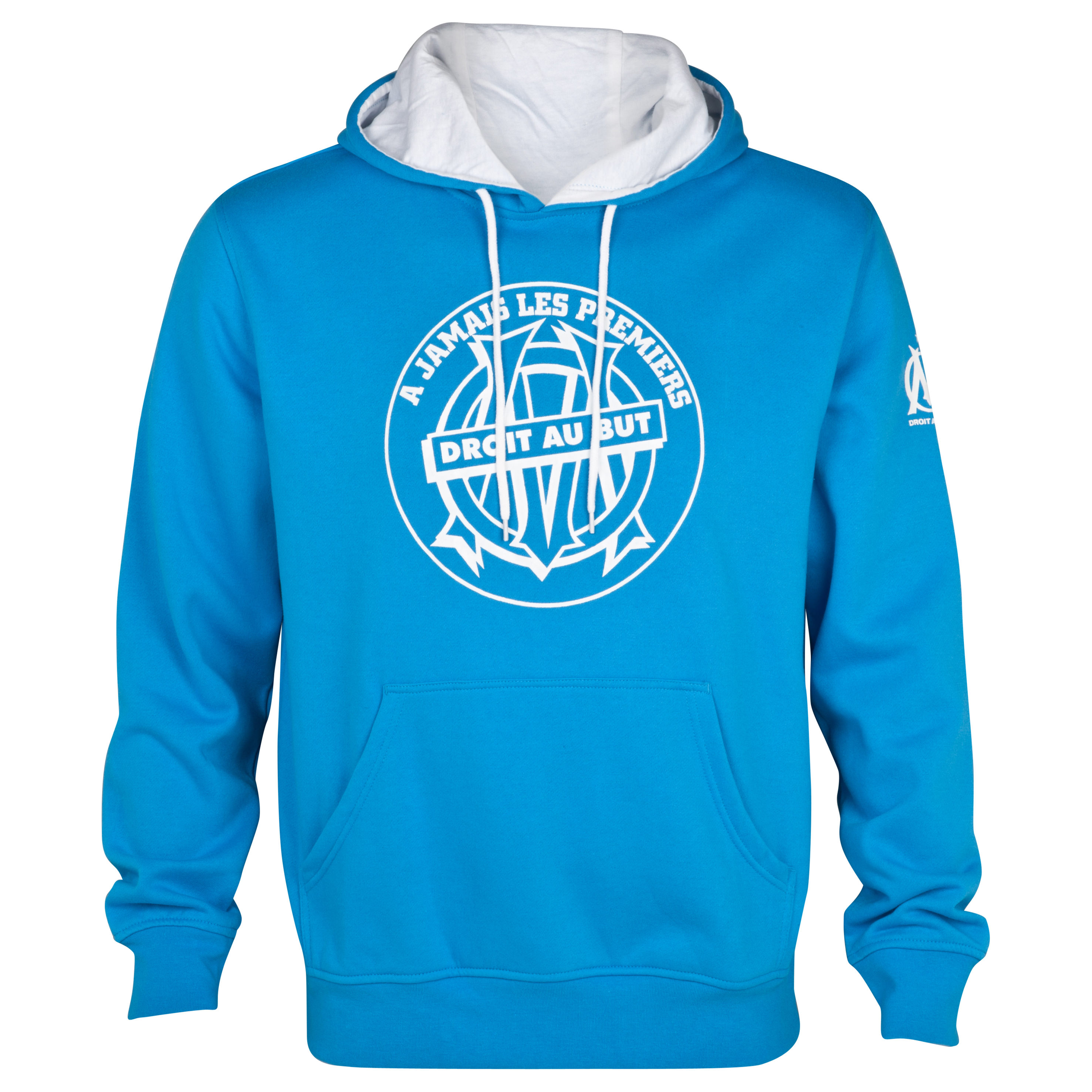 Olympique de Marseille Lifestyle Hoodie - Blue - Junior