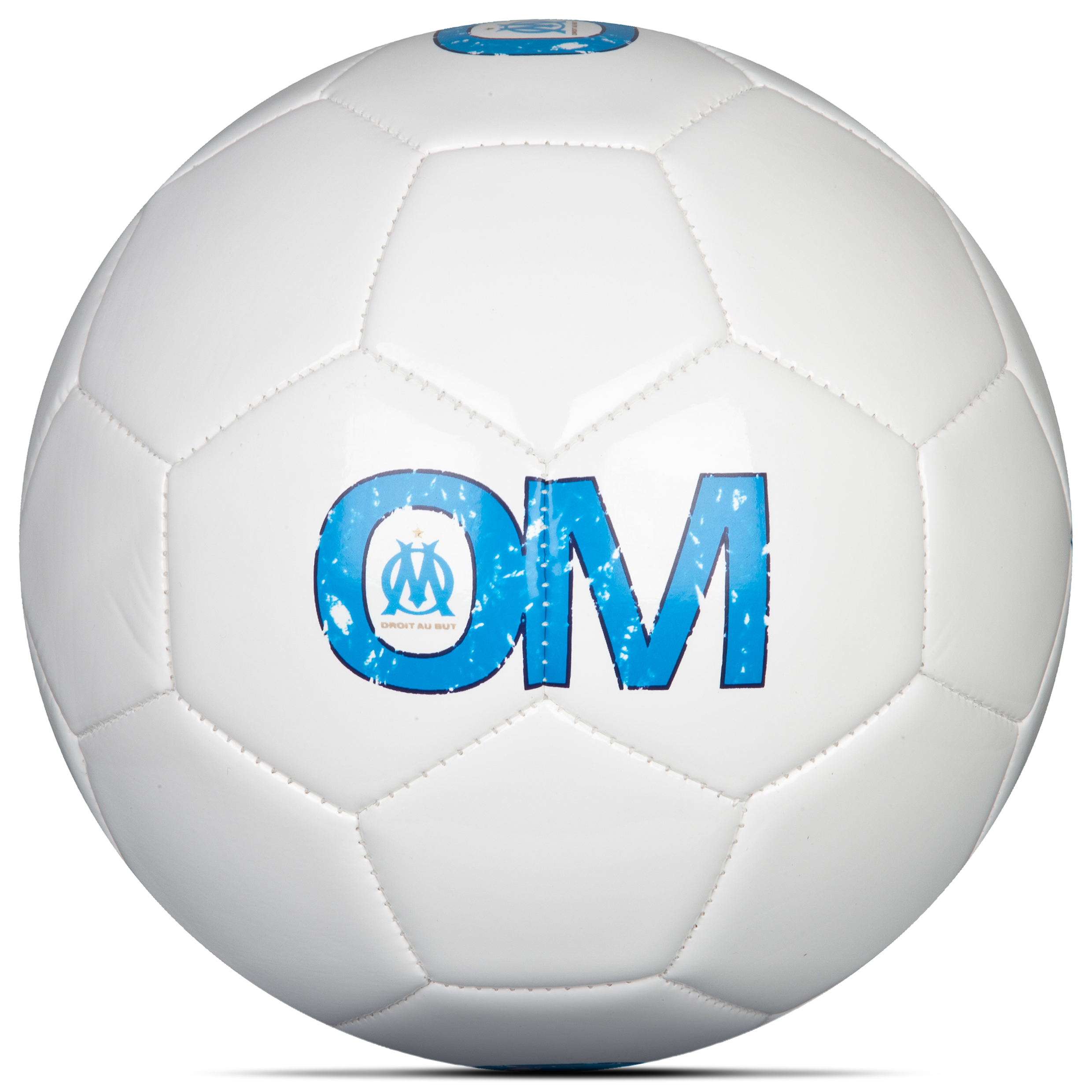 Olympique de Marseille Logo Ball - White