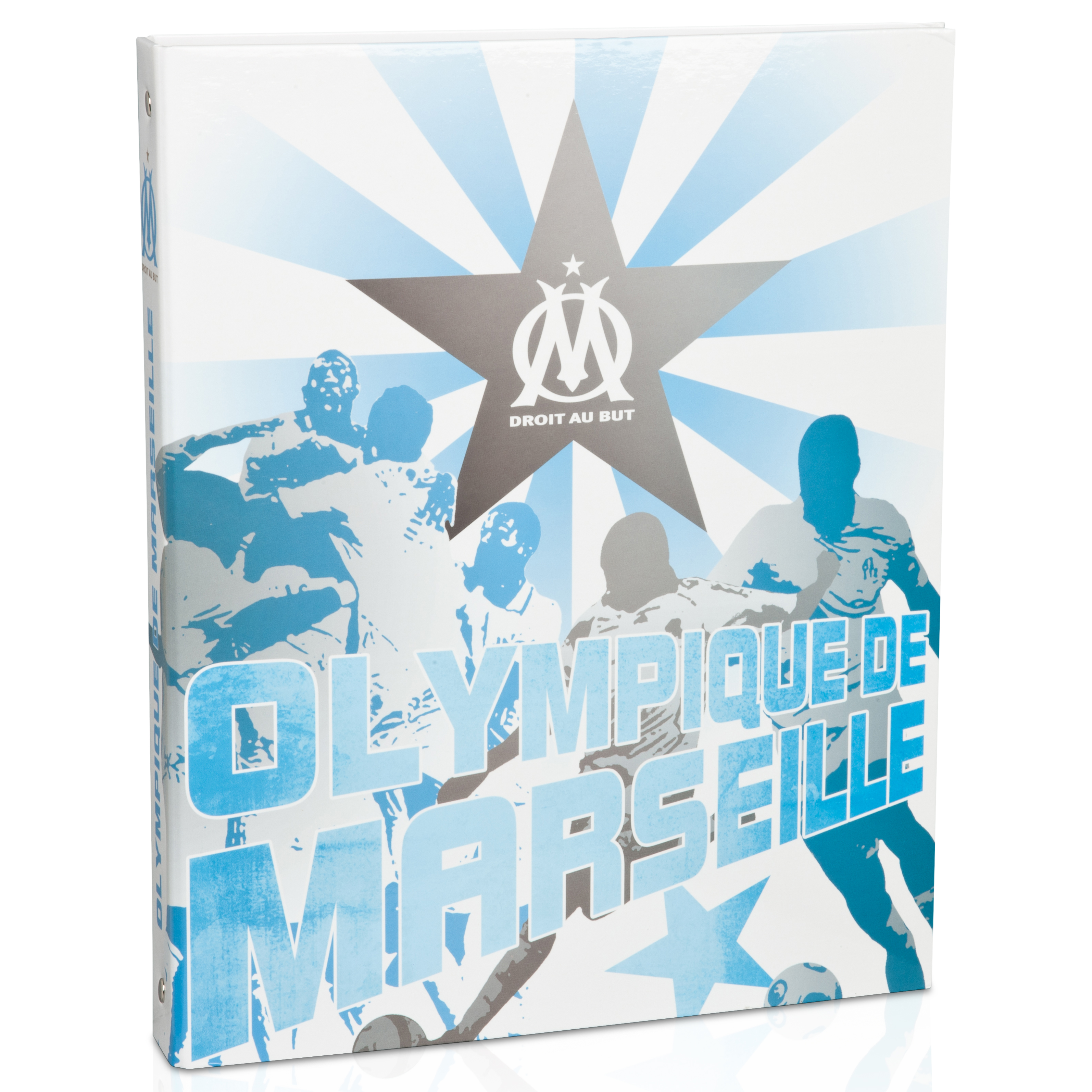 Porte-documents A4 Olympique de Marseille - Bleu