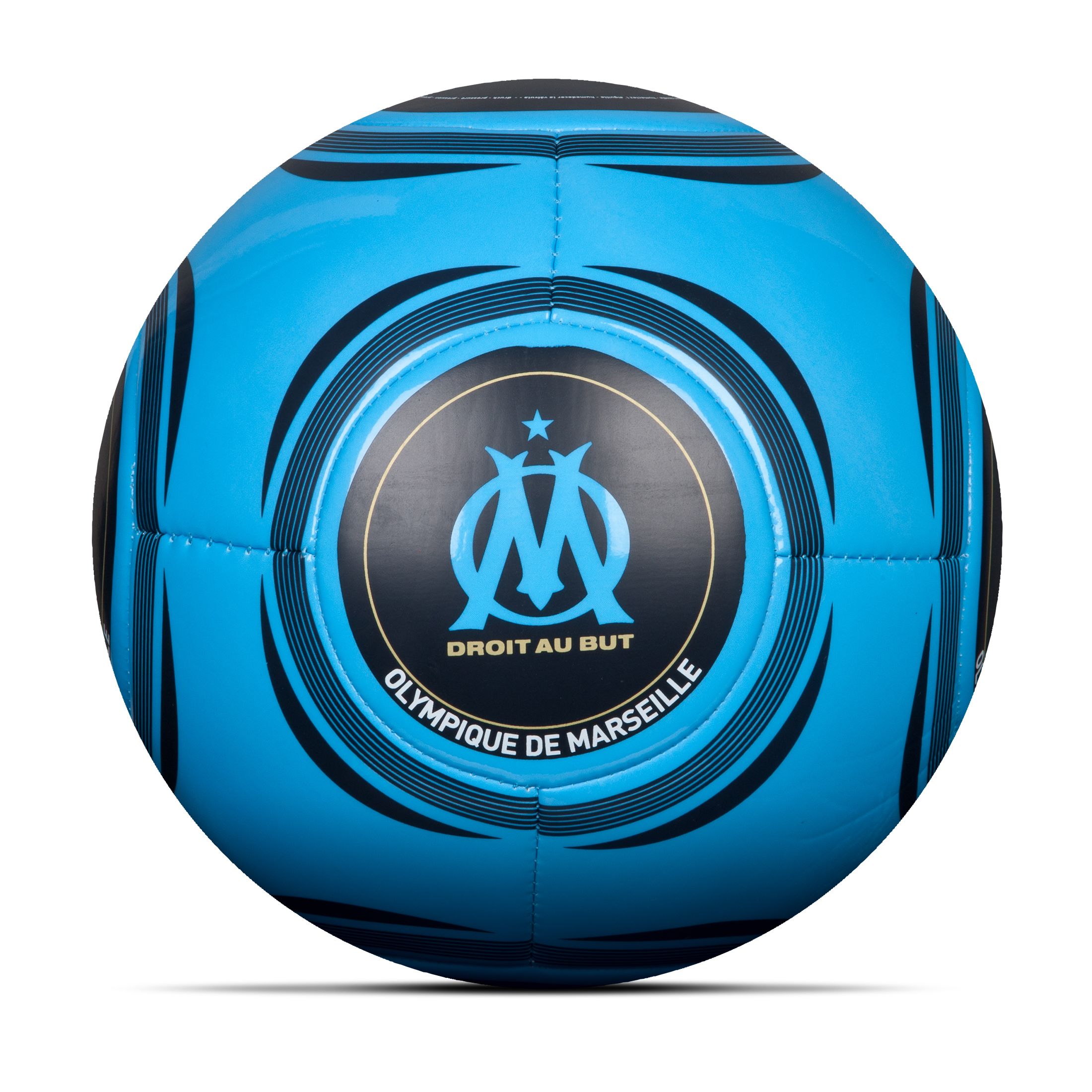 Olympique de Marseille Logo Football Size 5 - Blue