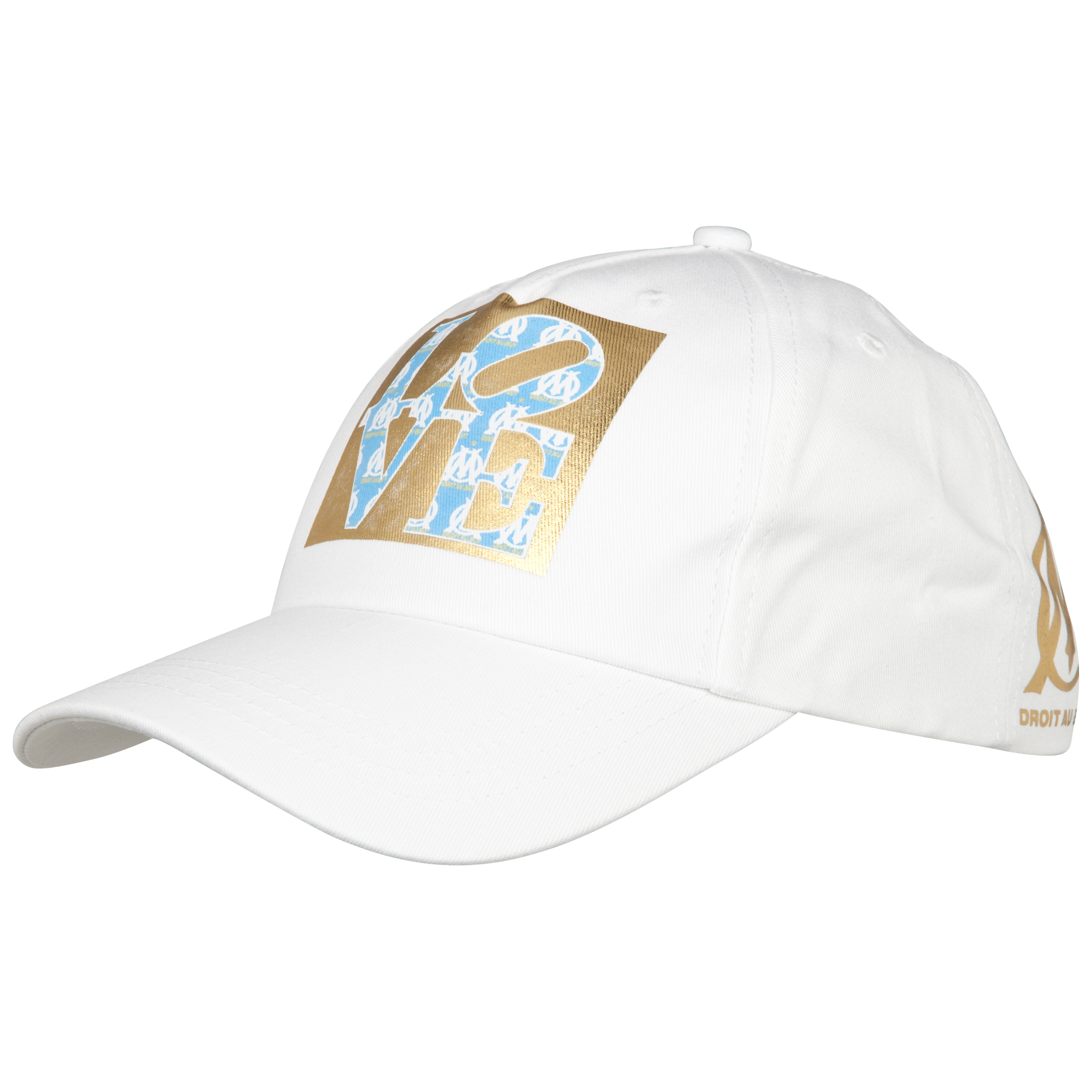 Olympique de Marseille Fashion Cap - Gold - Womens