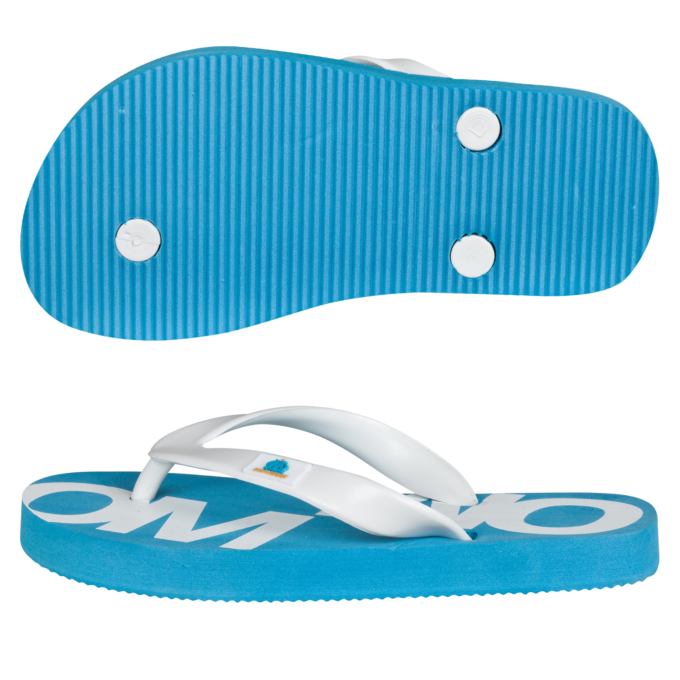 Olympique de Marseille Flip Flop - Blue - Junior