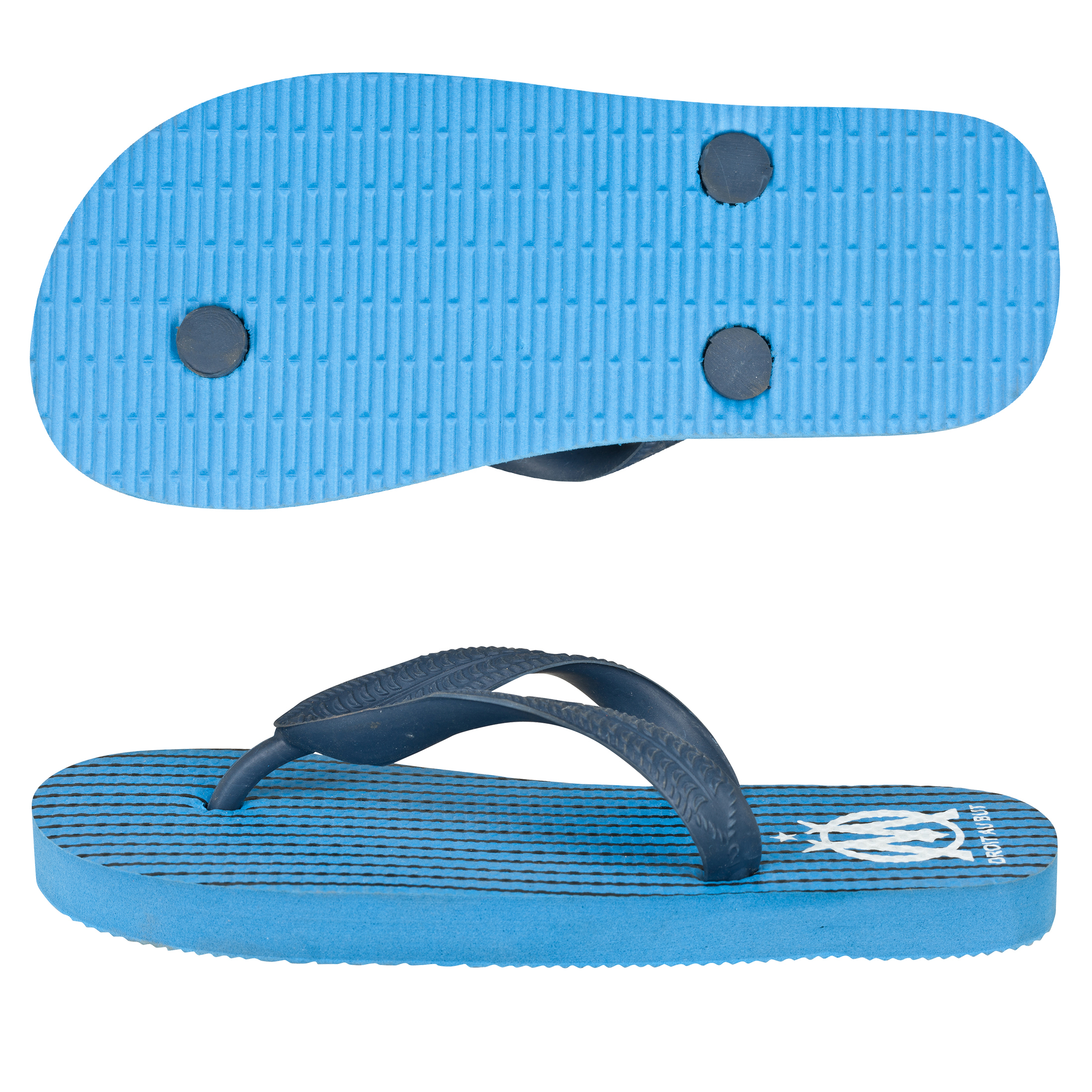 Olympique de Marseille Flip Flop - Dark Blue - Junior