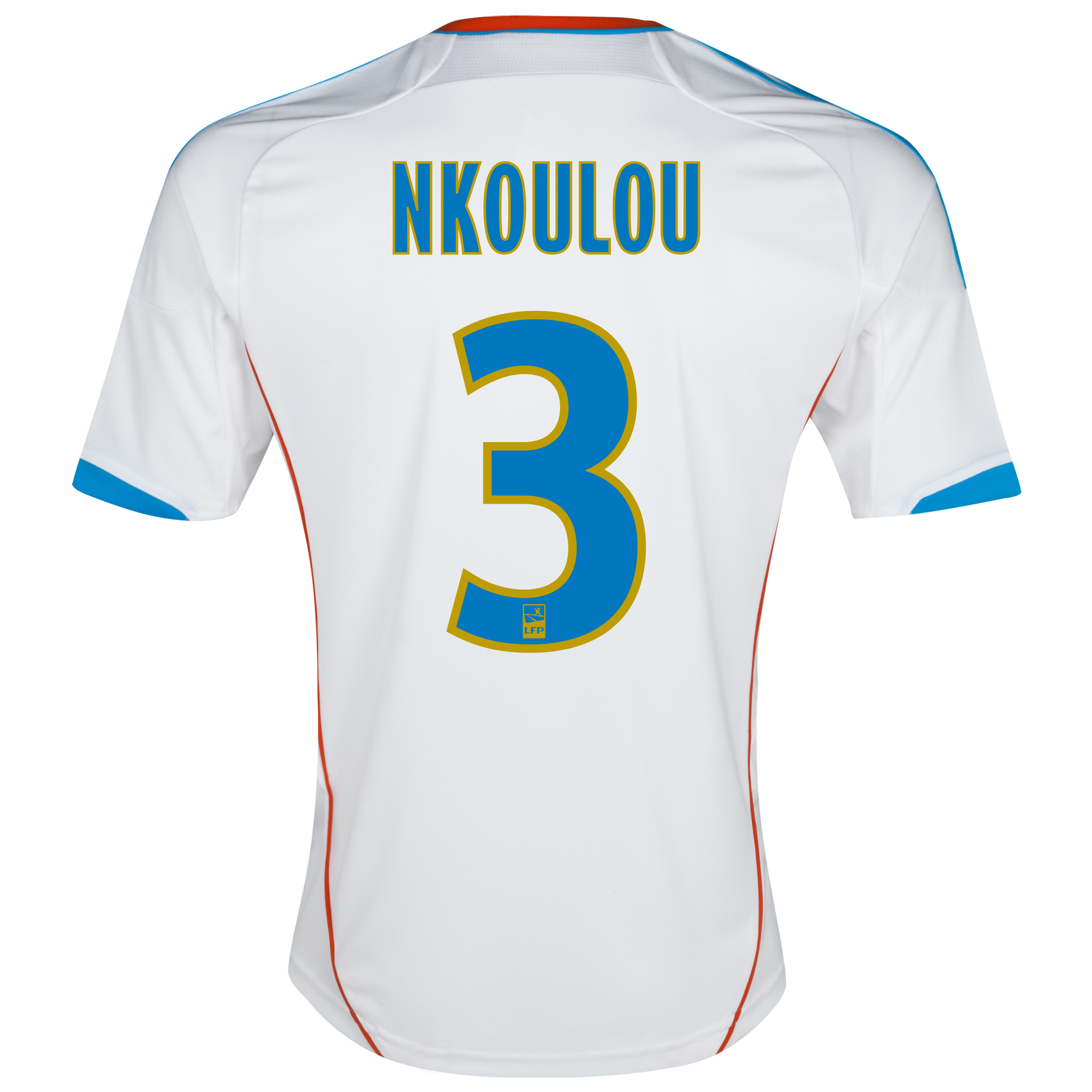 Olympique de Marseille Junior Home Replica 2012/13 with Nkoulou 3 printing