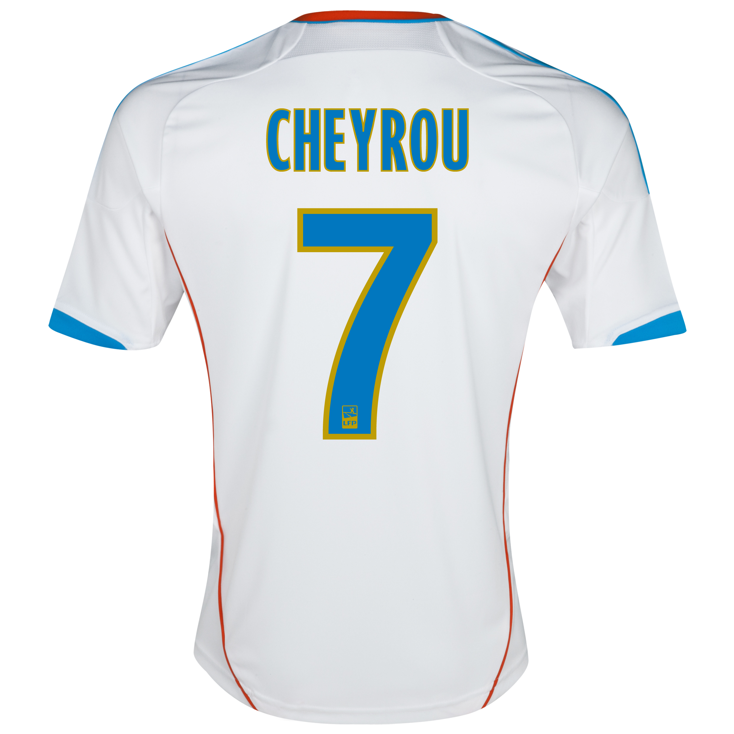 Olympique de Marseille Junior Home Replica 2012/13 with Cheyrou 7 printing
