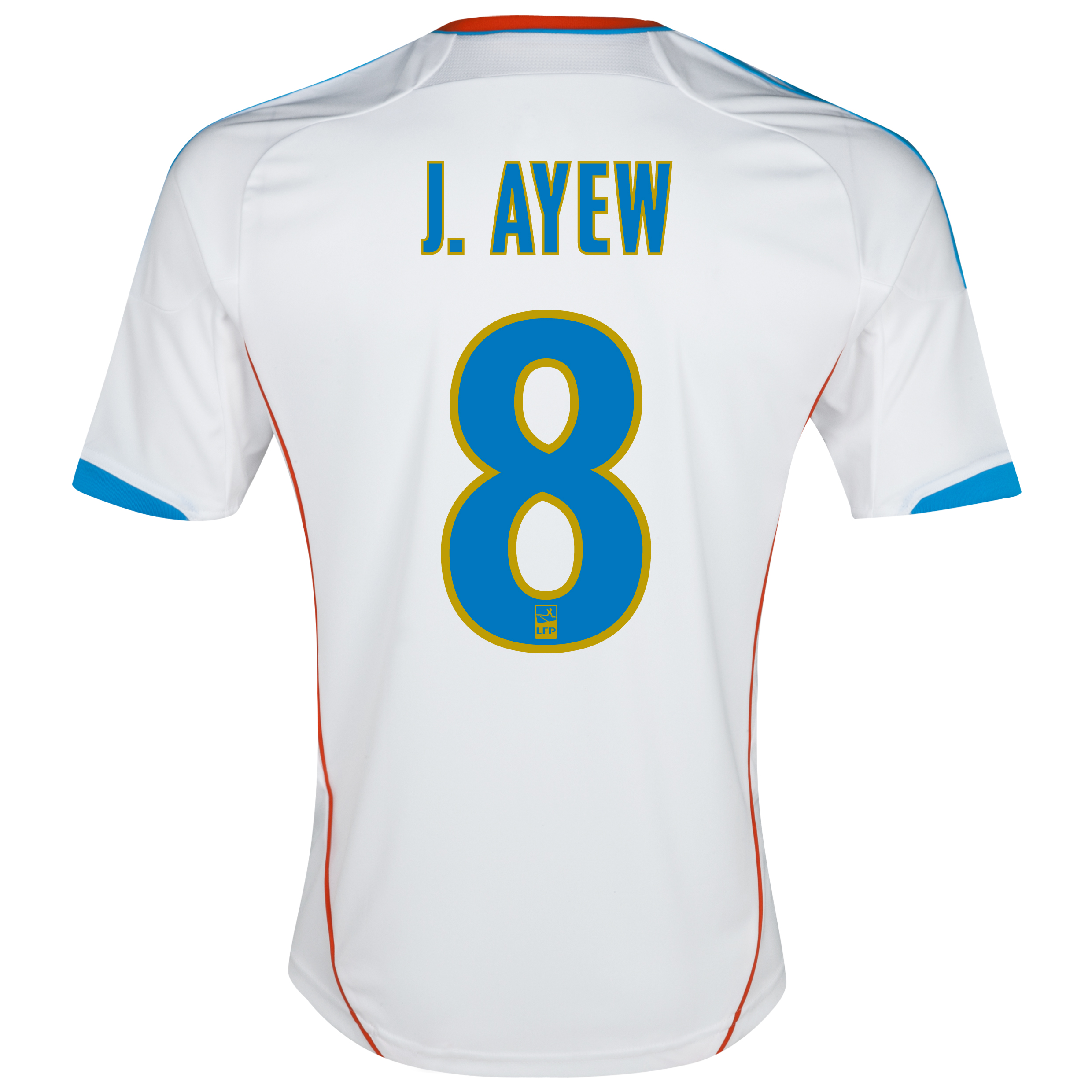 Olympique de Marseille Junior Home Replica 2012/13 with J.Ayew 8 printing