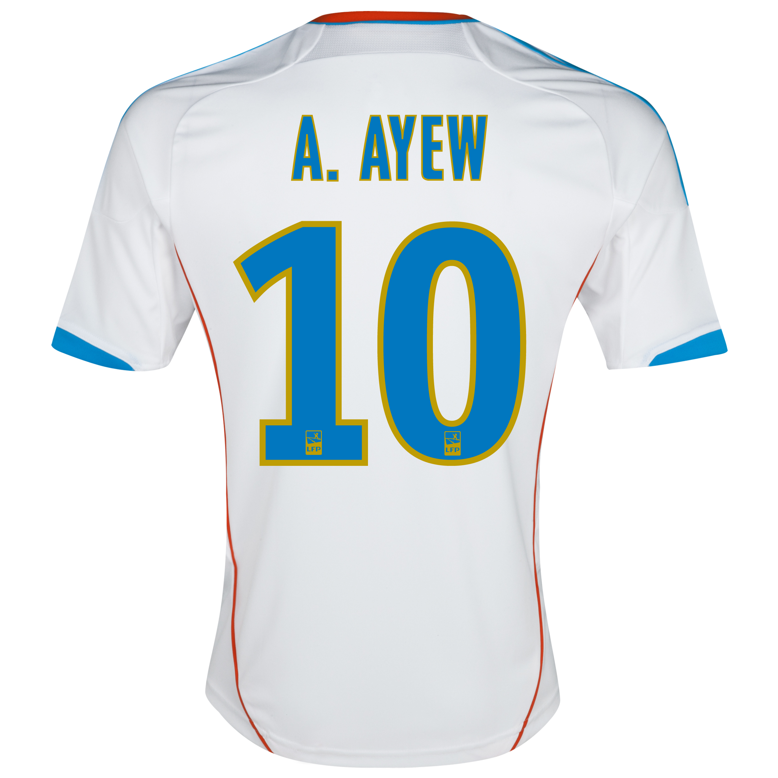 Olympique de Marseille Junior Home Replica 2012/13 with A.Ayew 10 printing