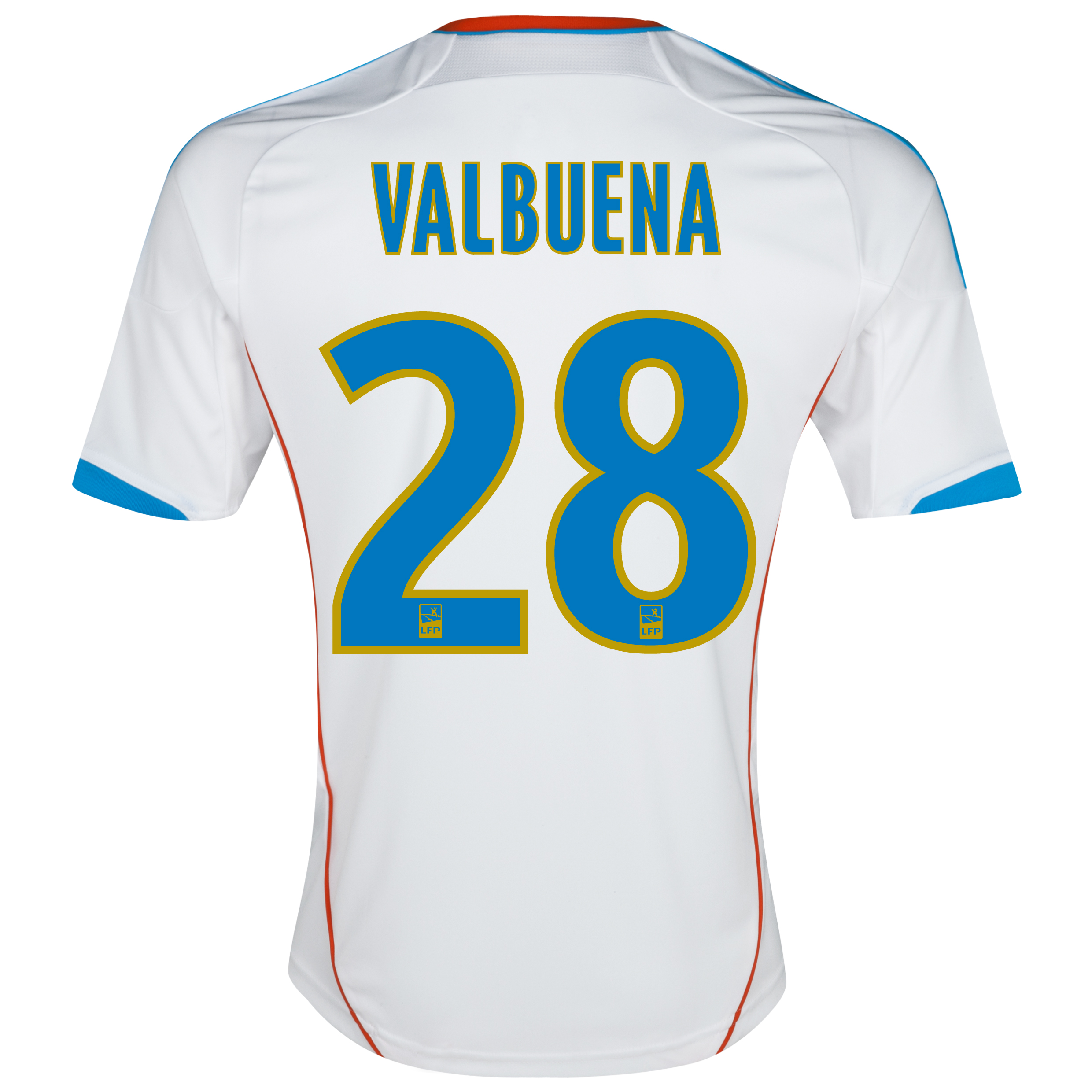 Olympique de Marseille Junior Home Replica 2012/13 with Valbuena 28 printing