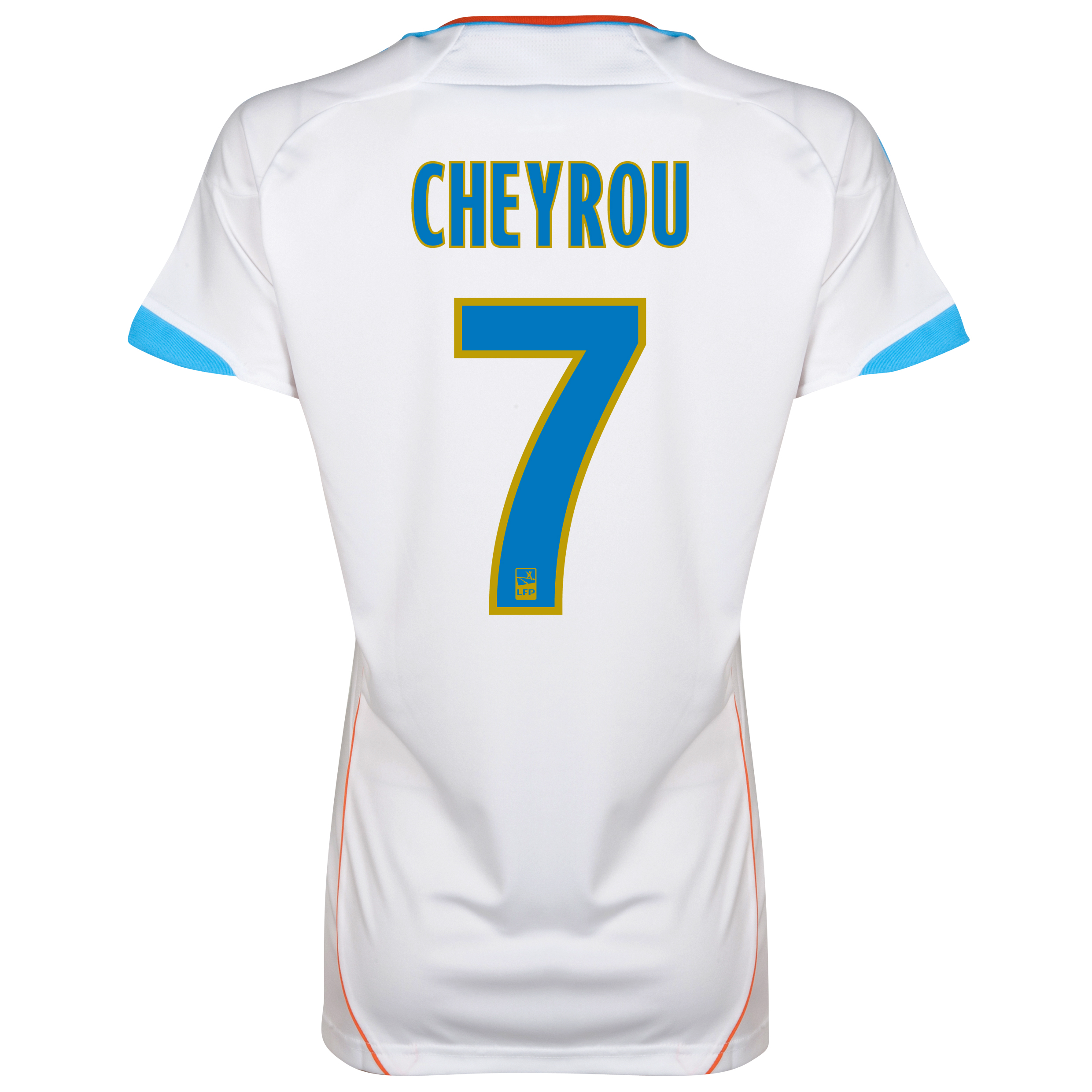 Olympique de Marseille Home Replica 2012/13 - Womens with Cheyrou 7 printing