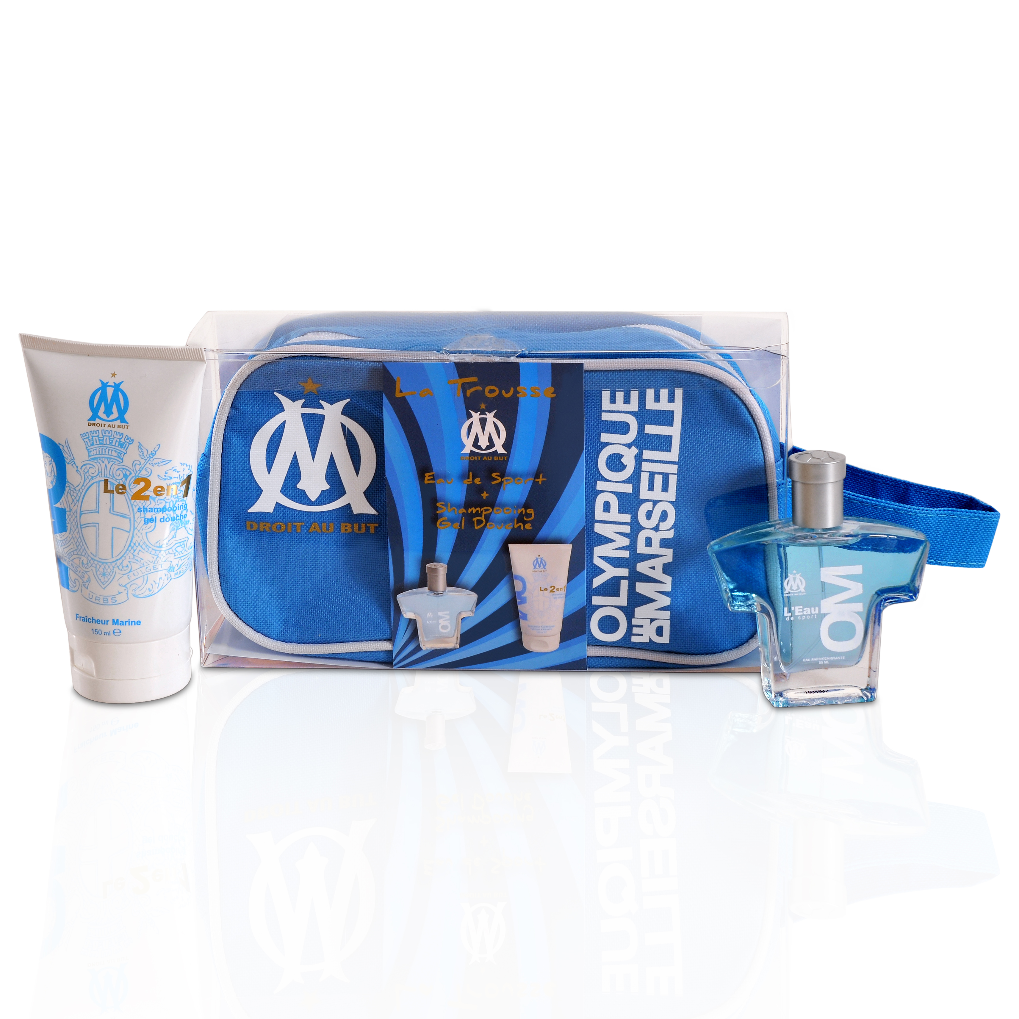 Olympique de Marseille Mens Washbag Gift Set