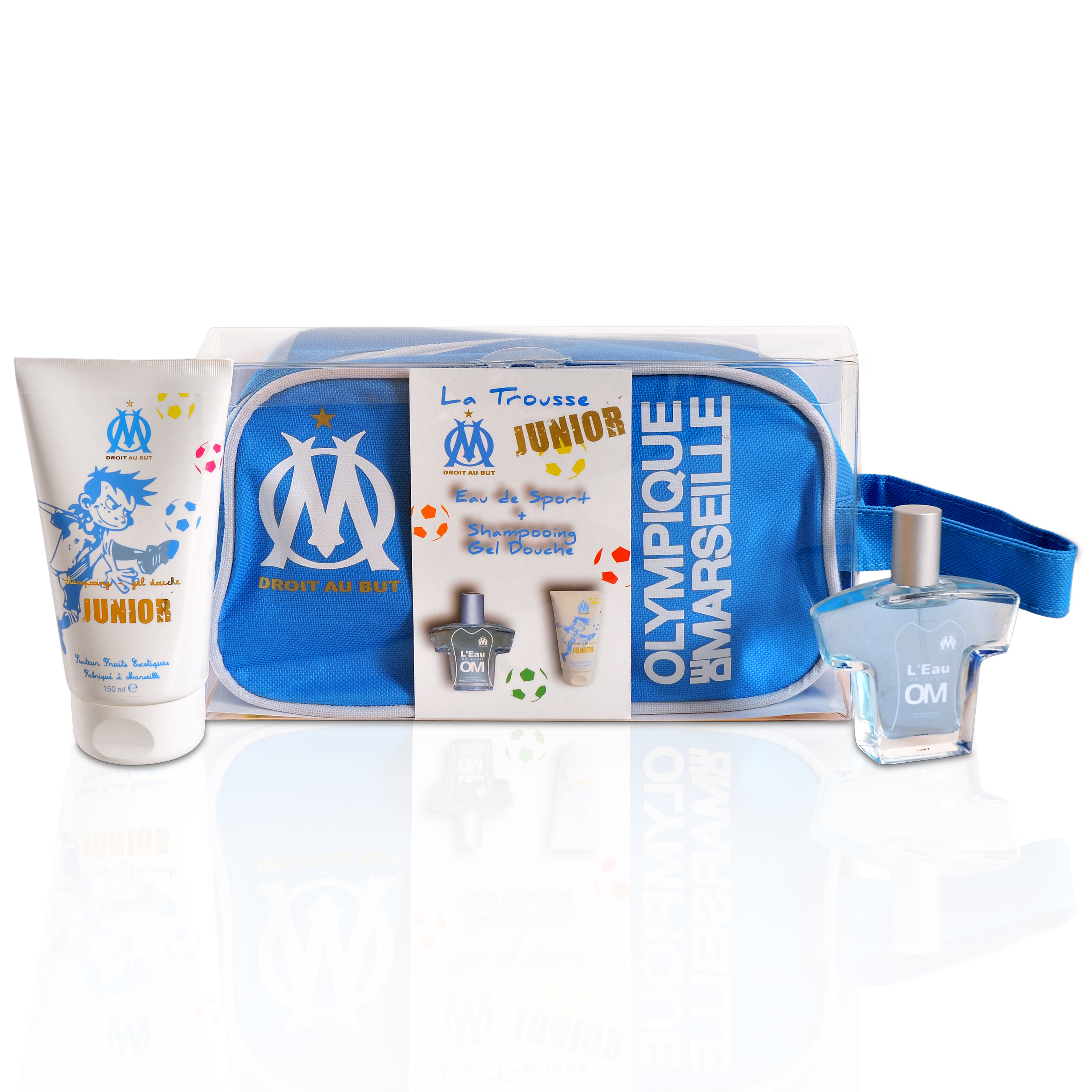 Olympique de Marseille Junior Washbag Gift Set