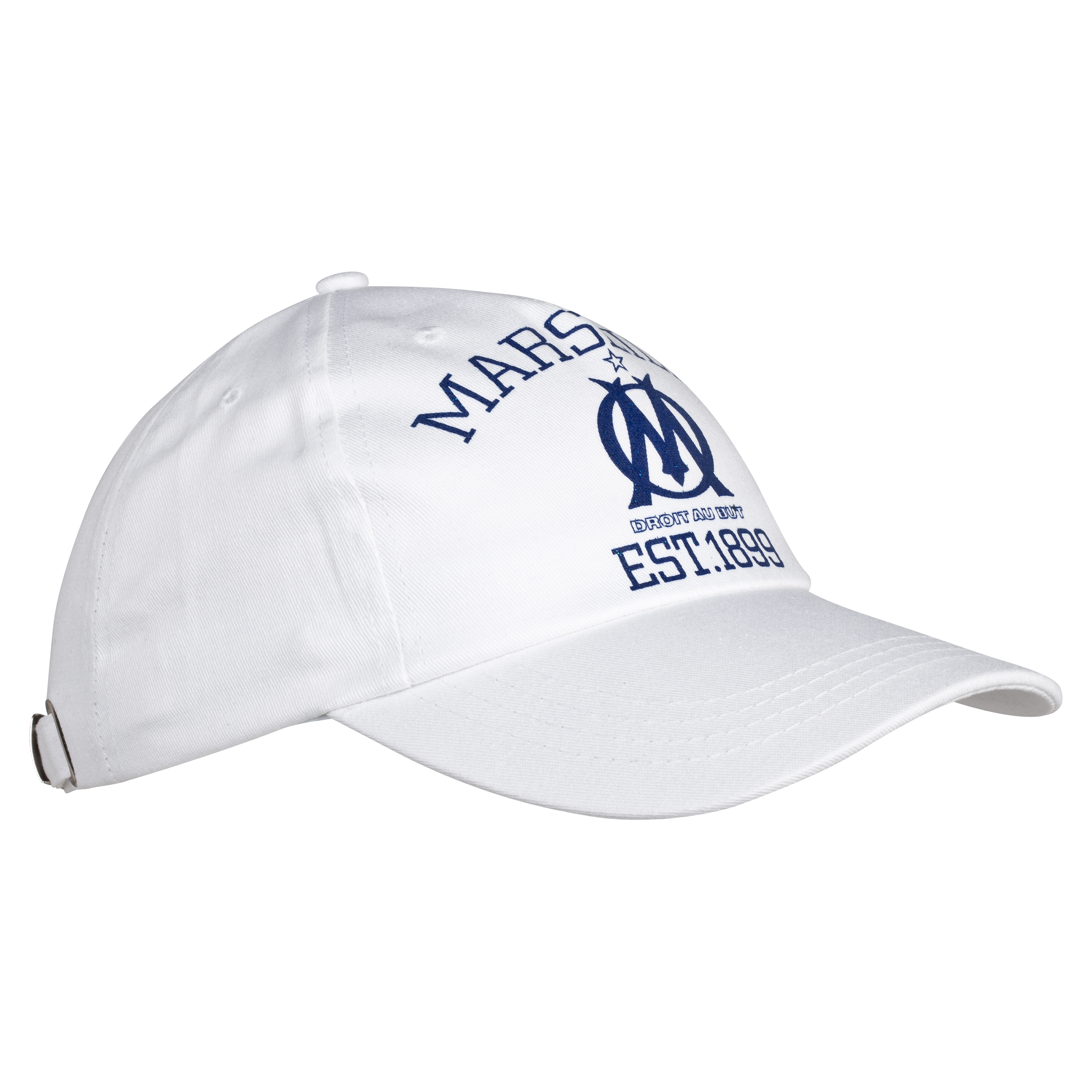Olympique de Marseille Lifestyle Cap - White - Women