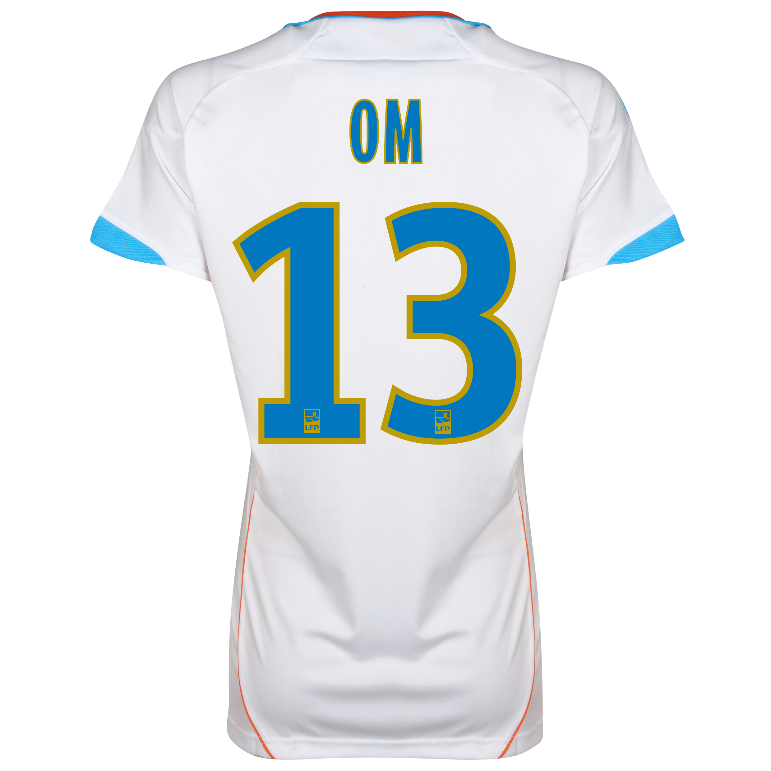 Olympique de Marseille Replica Home Shirt 2012/13 - Womens with OM 13 printing