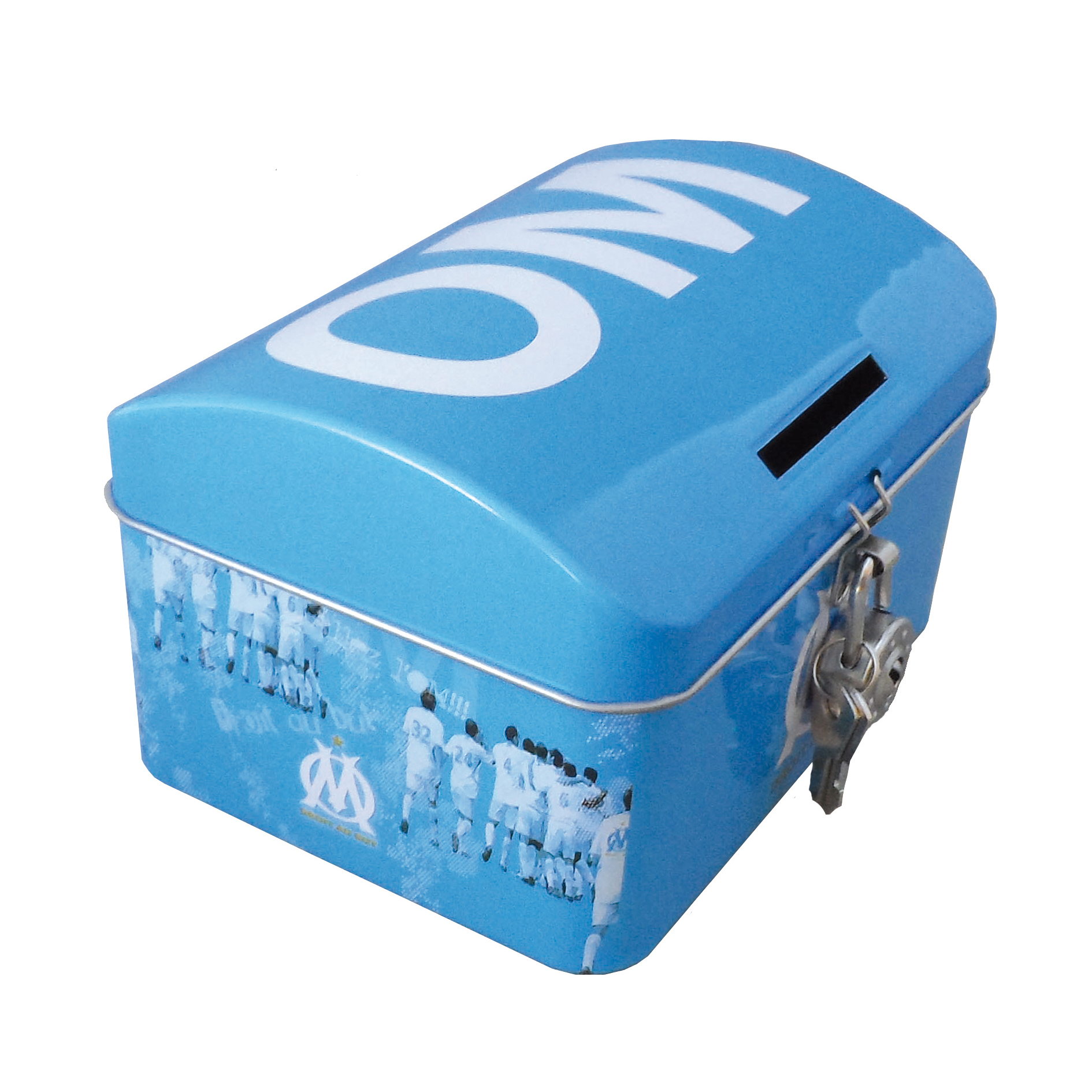 Olympique De Marseille Tin Money Box