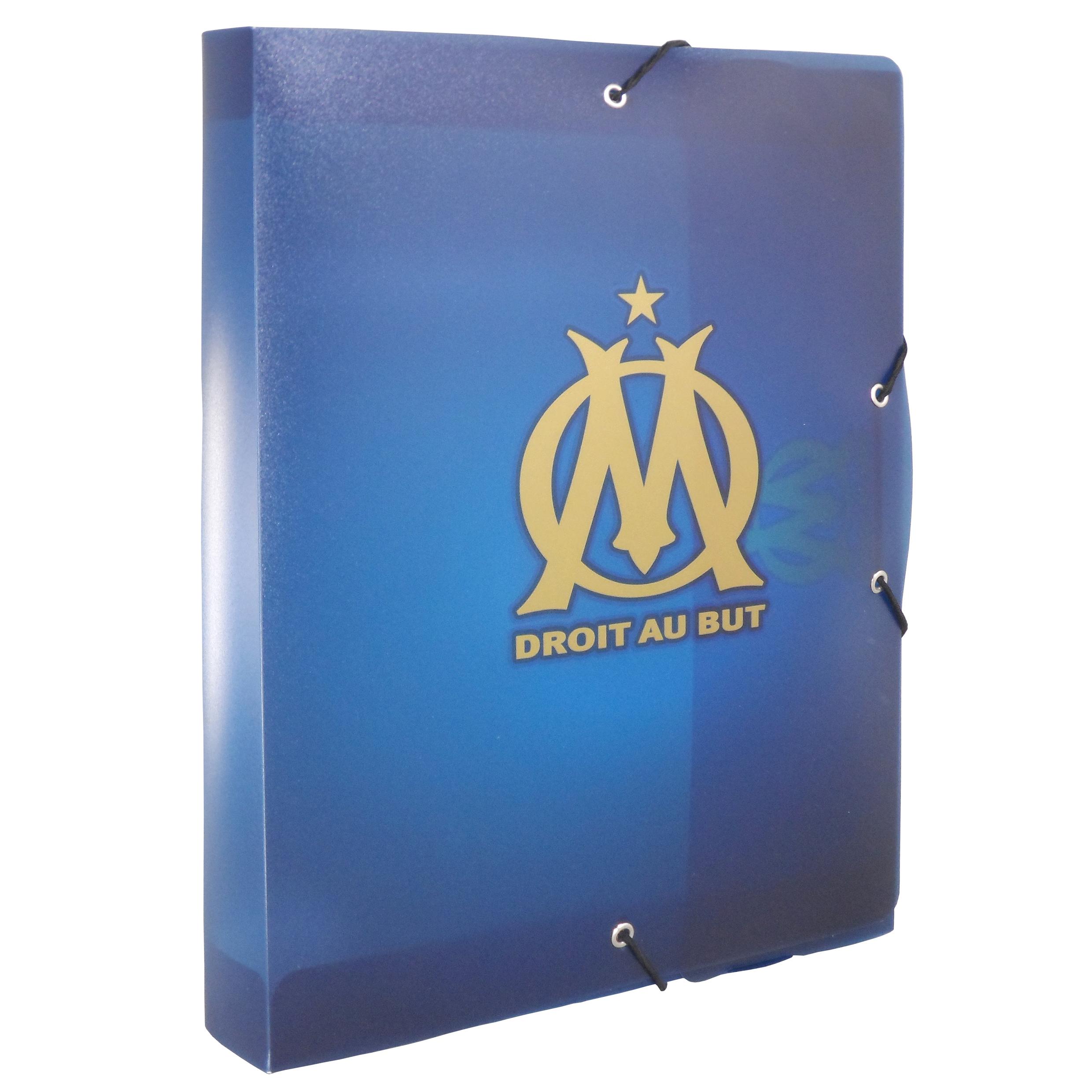 Porte-documents Plastique 4cm Olympique de Marseille