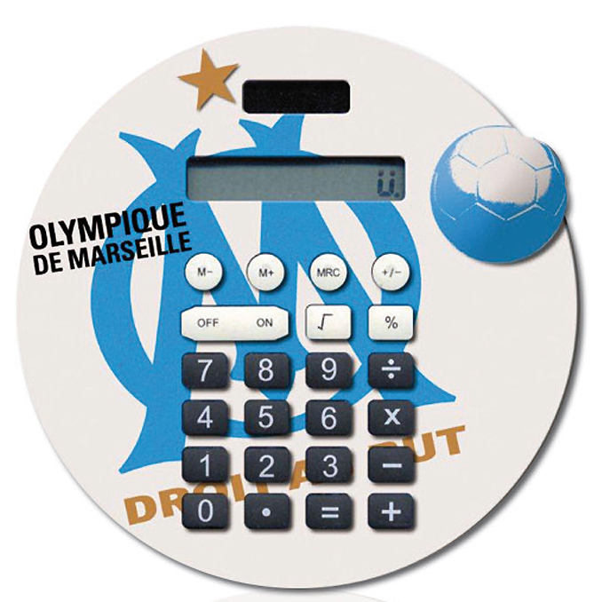 Calculatrice Olympique de Marseille