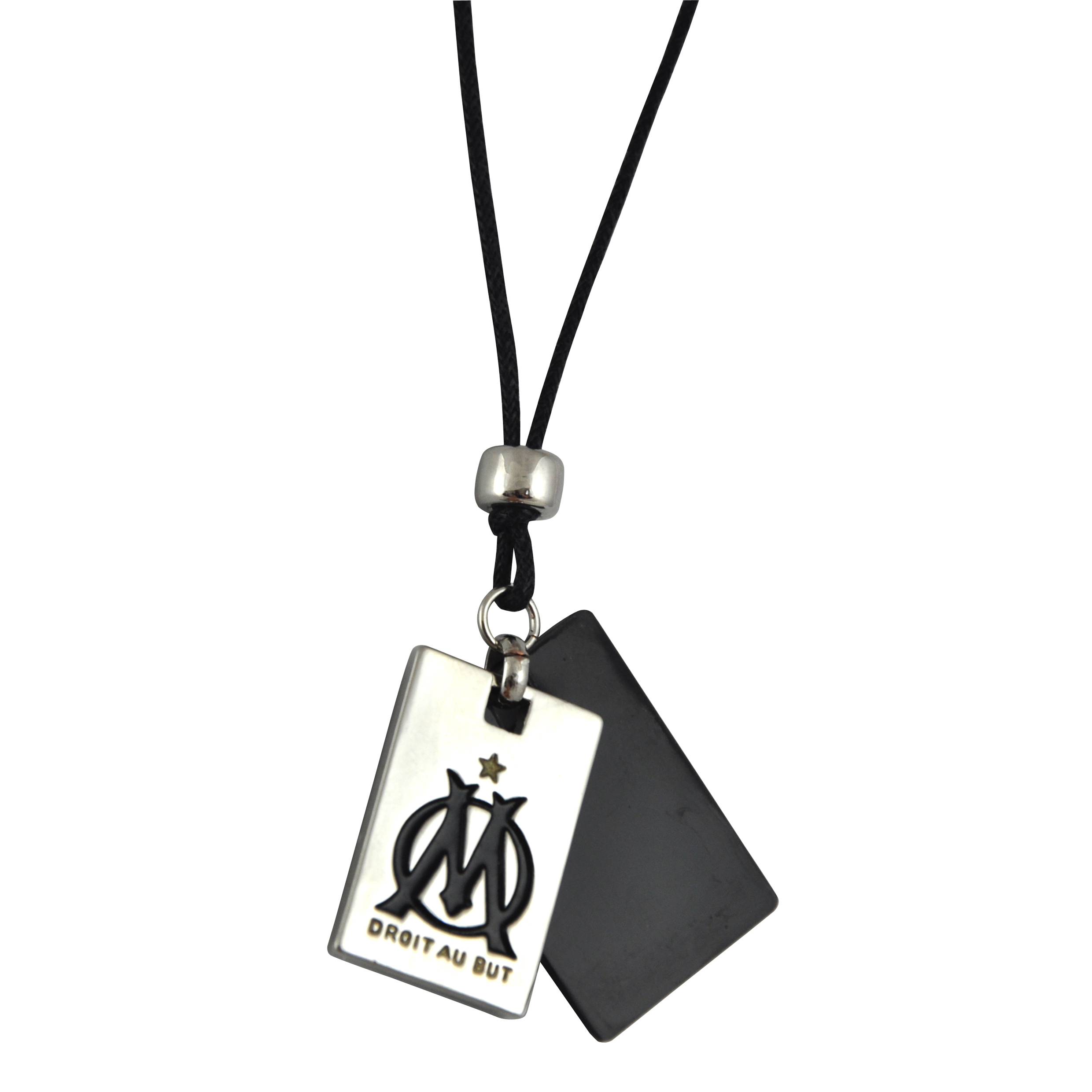 Olympique De Marseille 2 Plate Dogtag & Necklace
