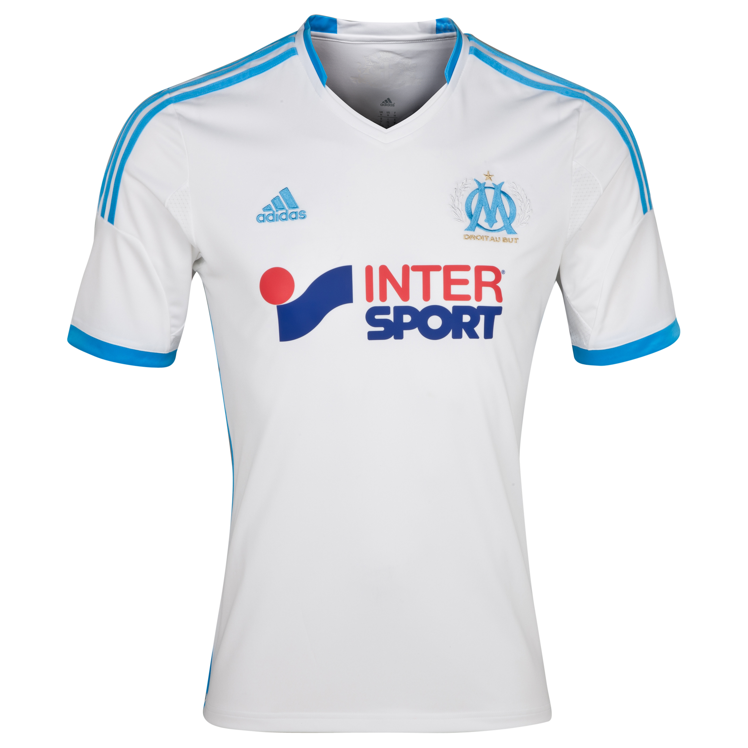 Olympique de Marseille Home Shirt SS 2013/14 - BWIN Offer White